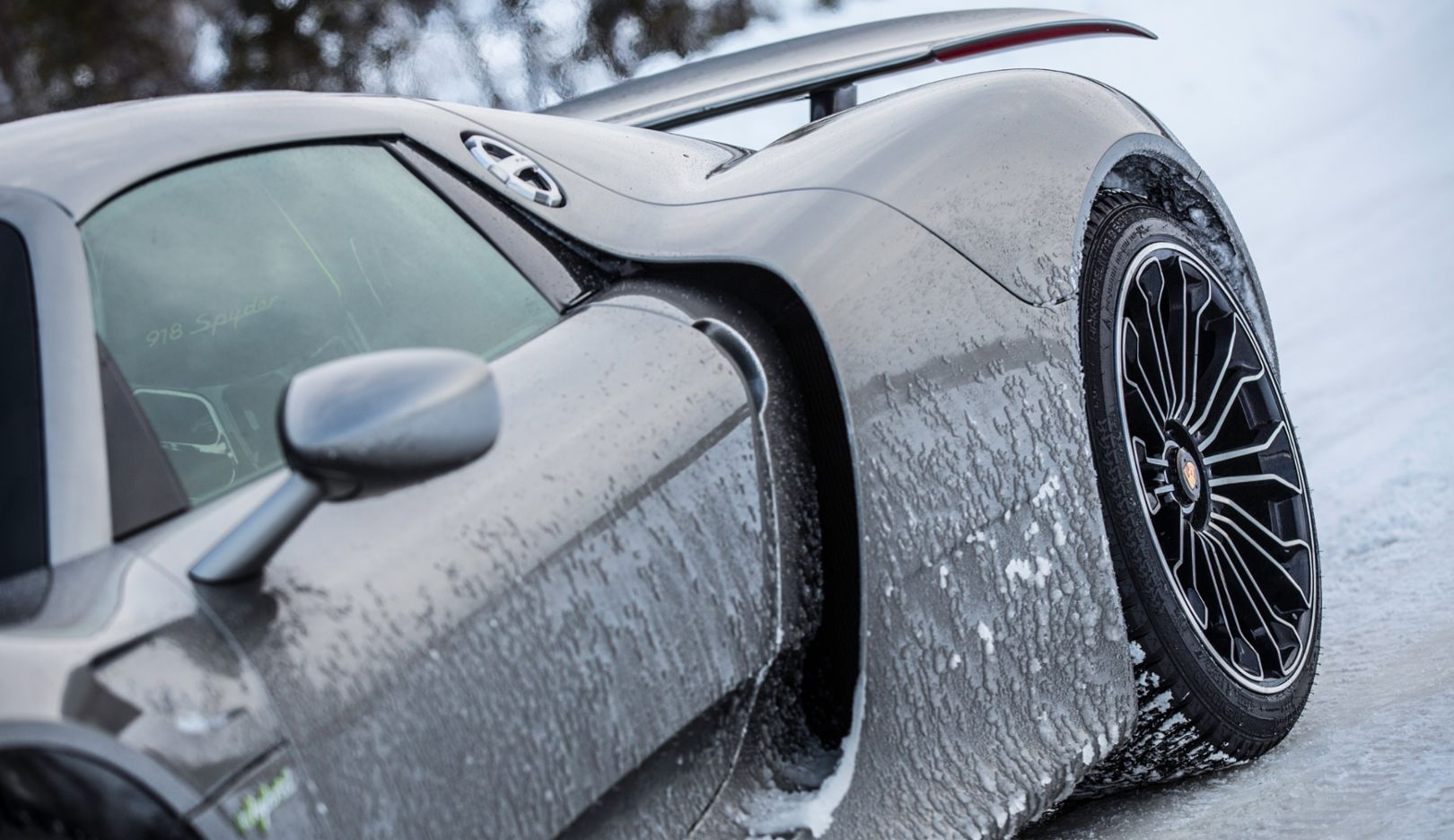 918 Spyder, Porsche Driving Experience, Ice Force, Levi, Finland, 2015, Porsche AG