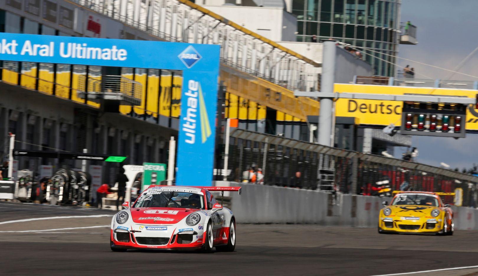 Porsche 911 GT3 Cup, Porsche Carrera Cup Deutschland, Nürburgring, 2015, Porsche AG