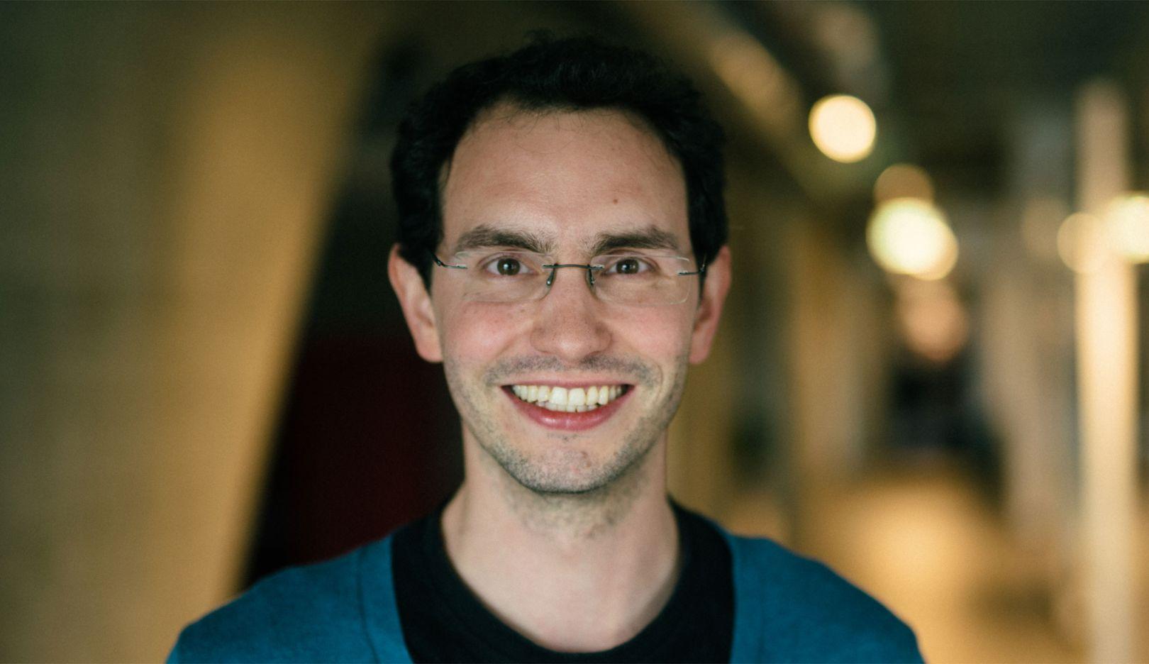 Claudio Weck, employee Porsche Digital Lab, 2017, Porsche AG