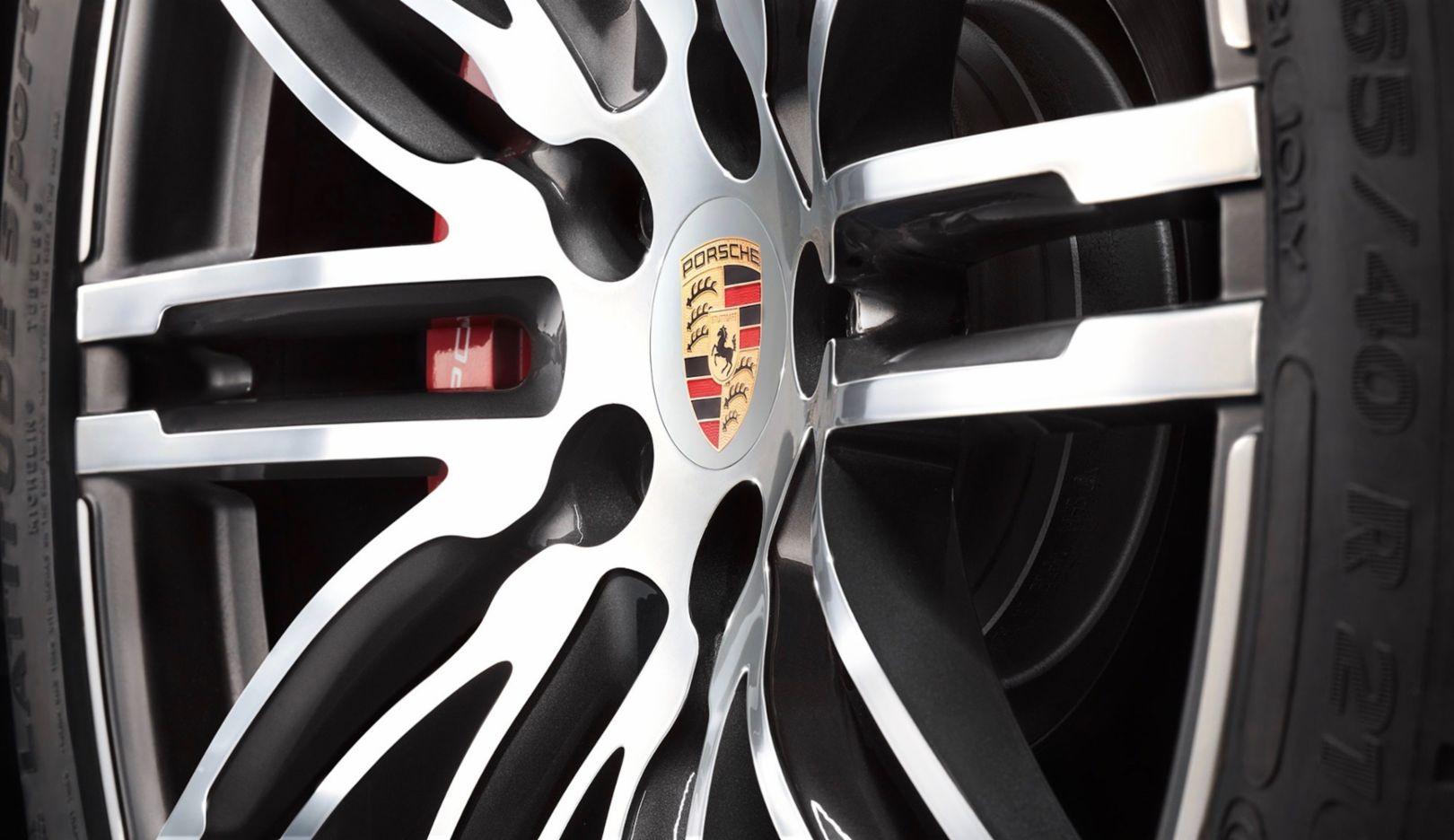Radnabenabdeckung, 2018, Porsche AG
