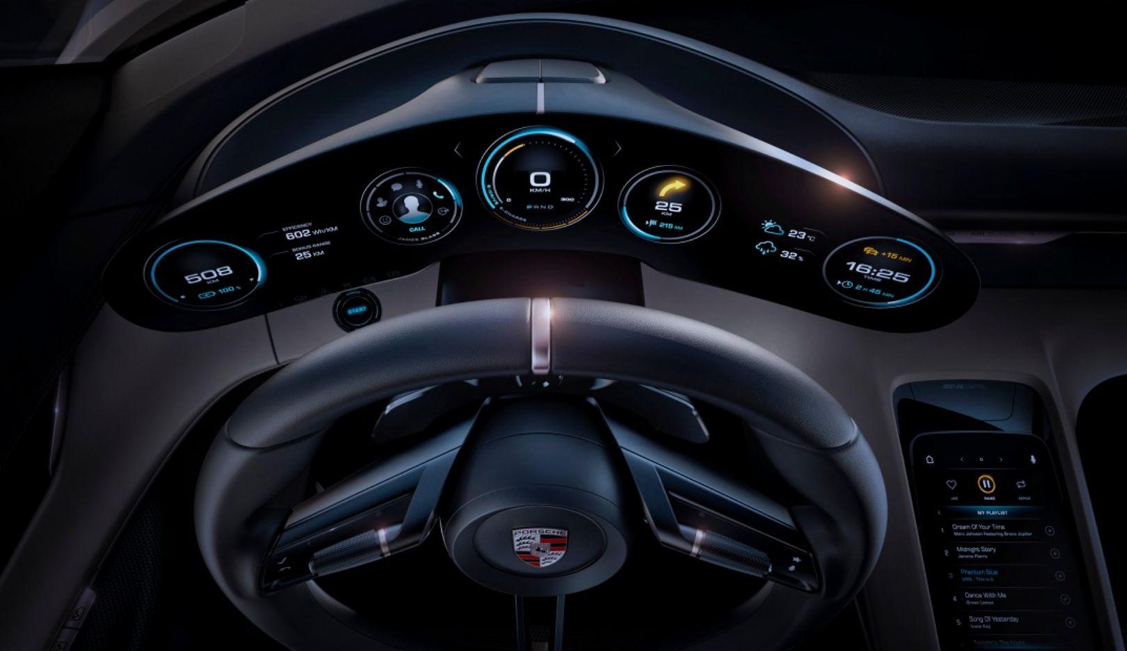 Porsche Mission E, 2016, Porsche AG