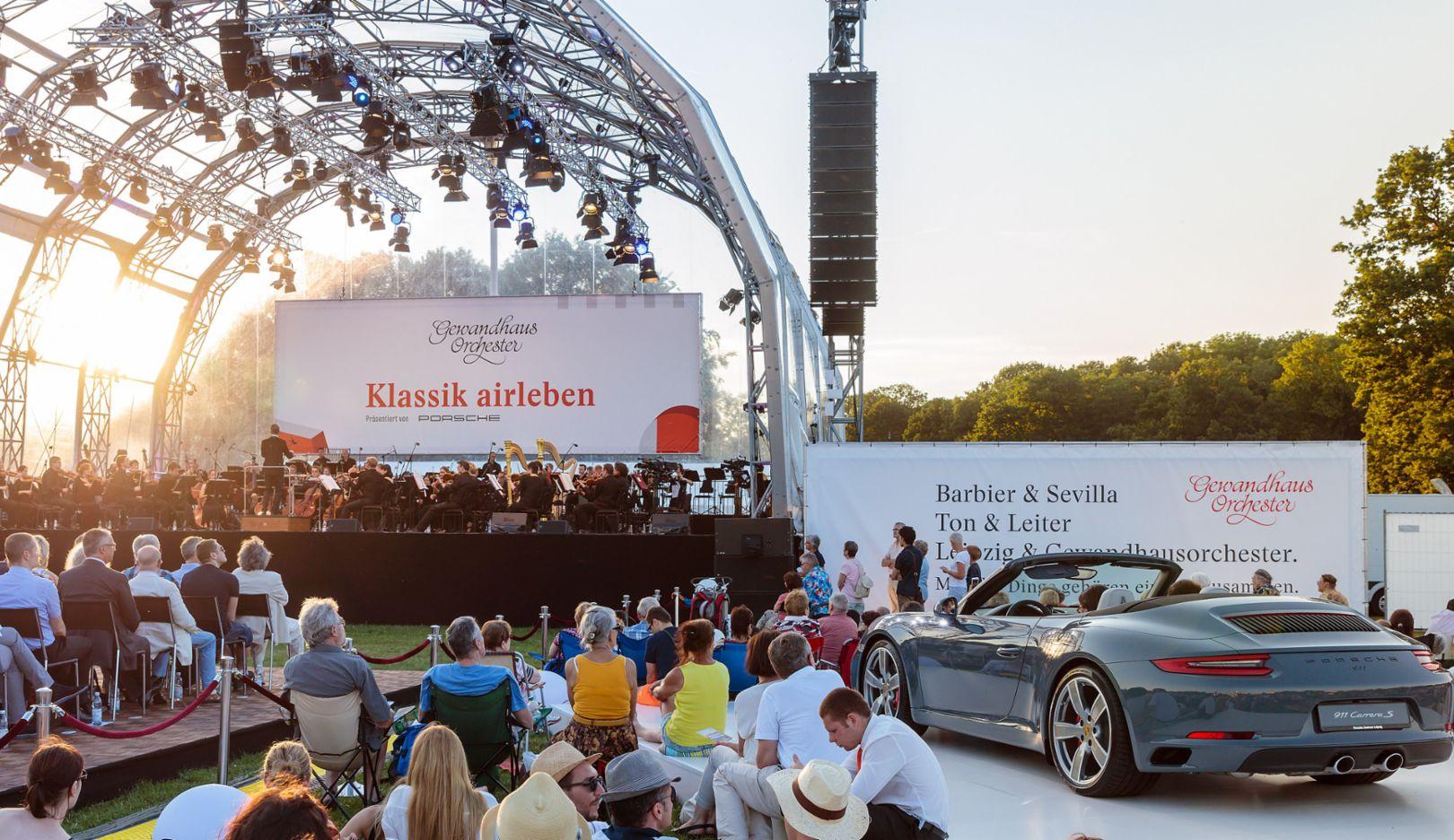 Porsche 911 Carrera S Cabriolet, Leipziger Rosental, 2016, Porsche AG