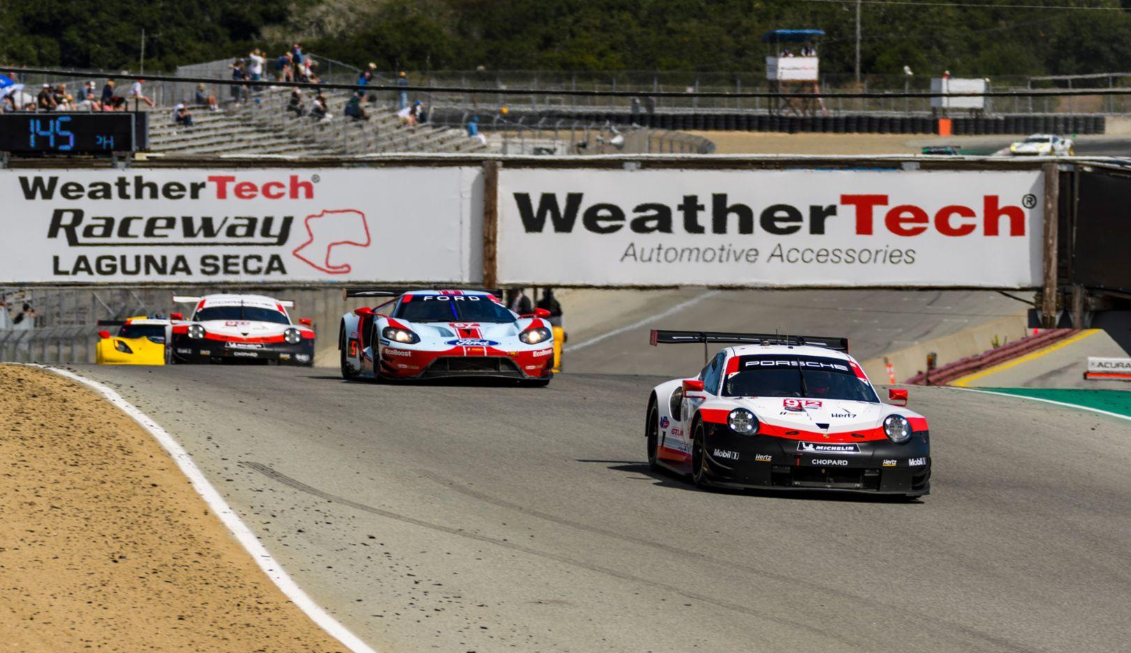 Laguna Seca Raceway >> Imsa Porsche Scores Vital Points On The Way To A Possible