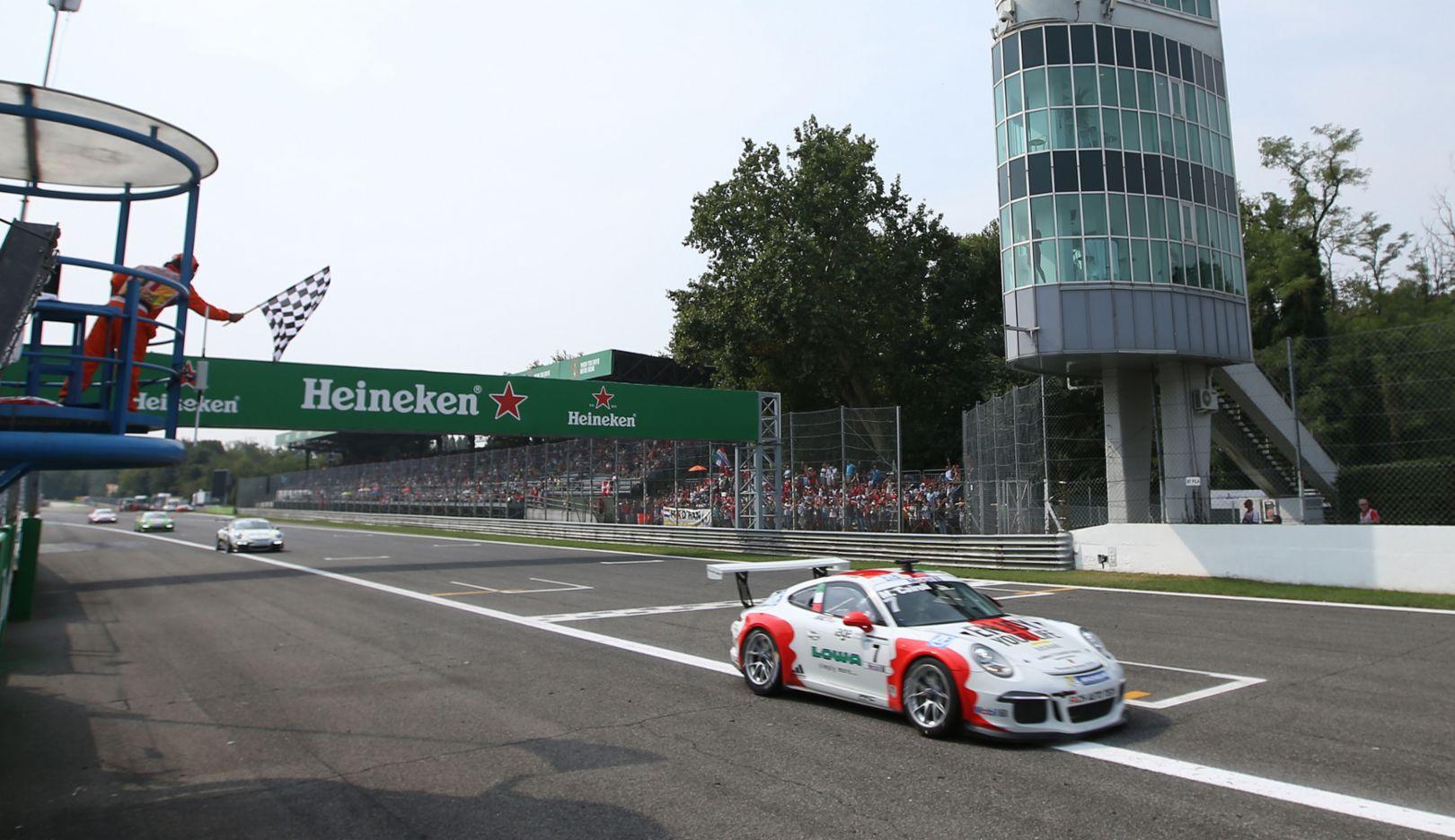 911 GT3 Cup, Porsche Mobil 1 Supercup, Monza, 2016, Porsche AG