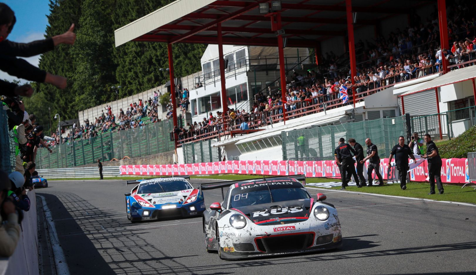 911 GT3 R (117), KÜS Team75 Bernhard, Race, 24 hours of Spa, 2017, Porsche AG