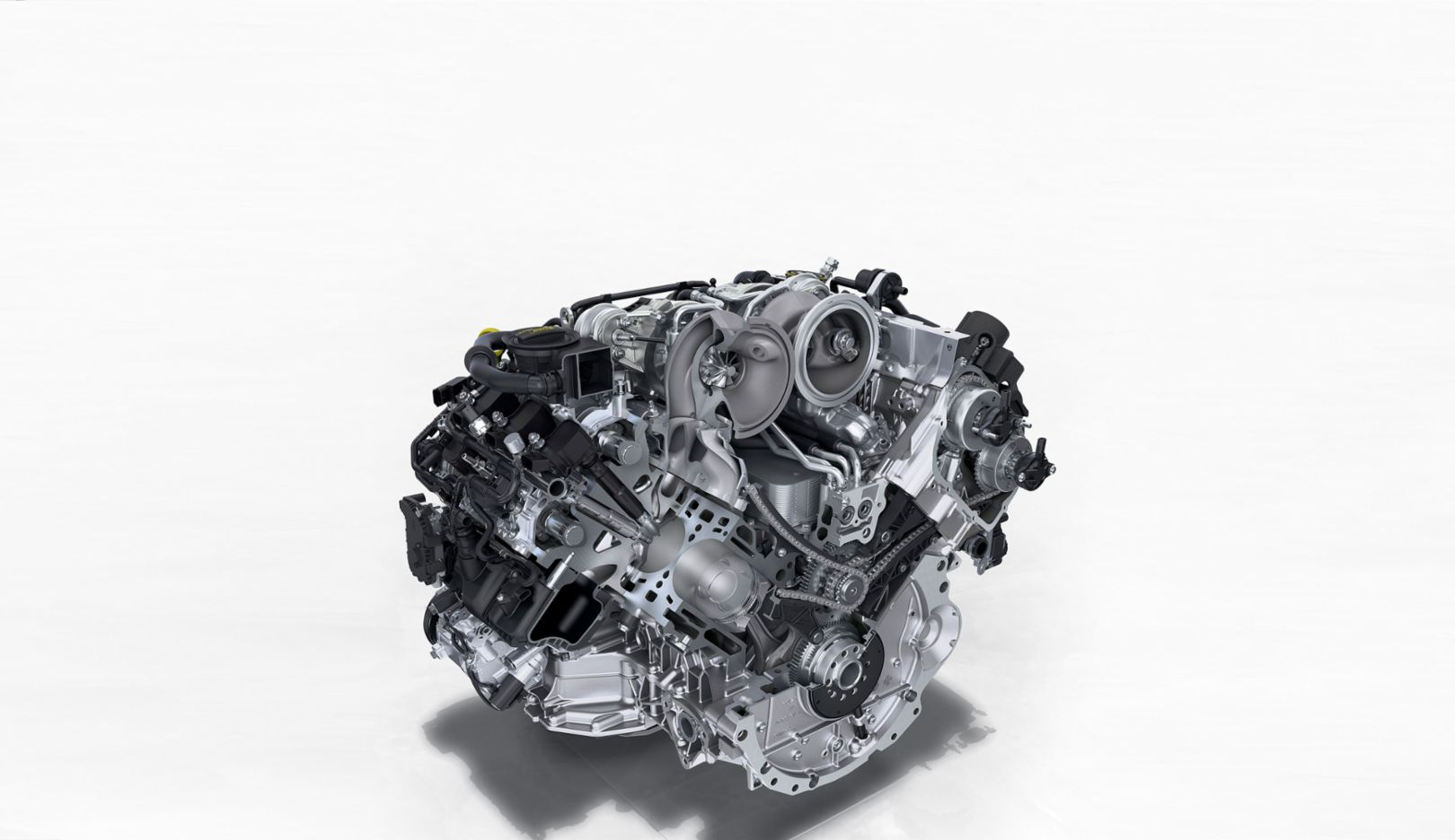 The engine architecture of V8 machines
