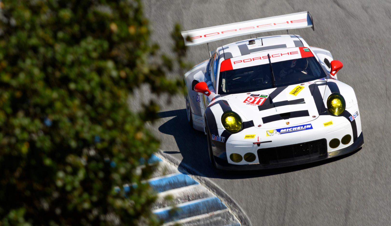 Porsche 911 RSR, Porsche North America, Laguna Seca 2015, Porsche AG