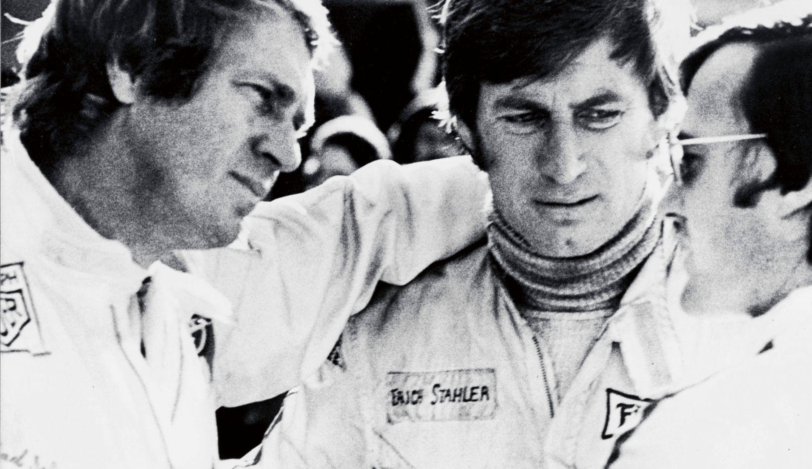 Steve McQueen (l), Siegfried Rauch (r), 2016, Porsche AG