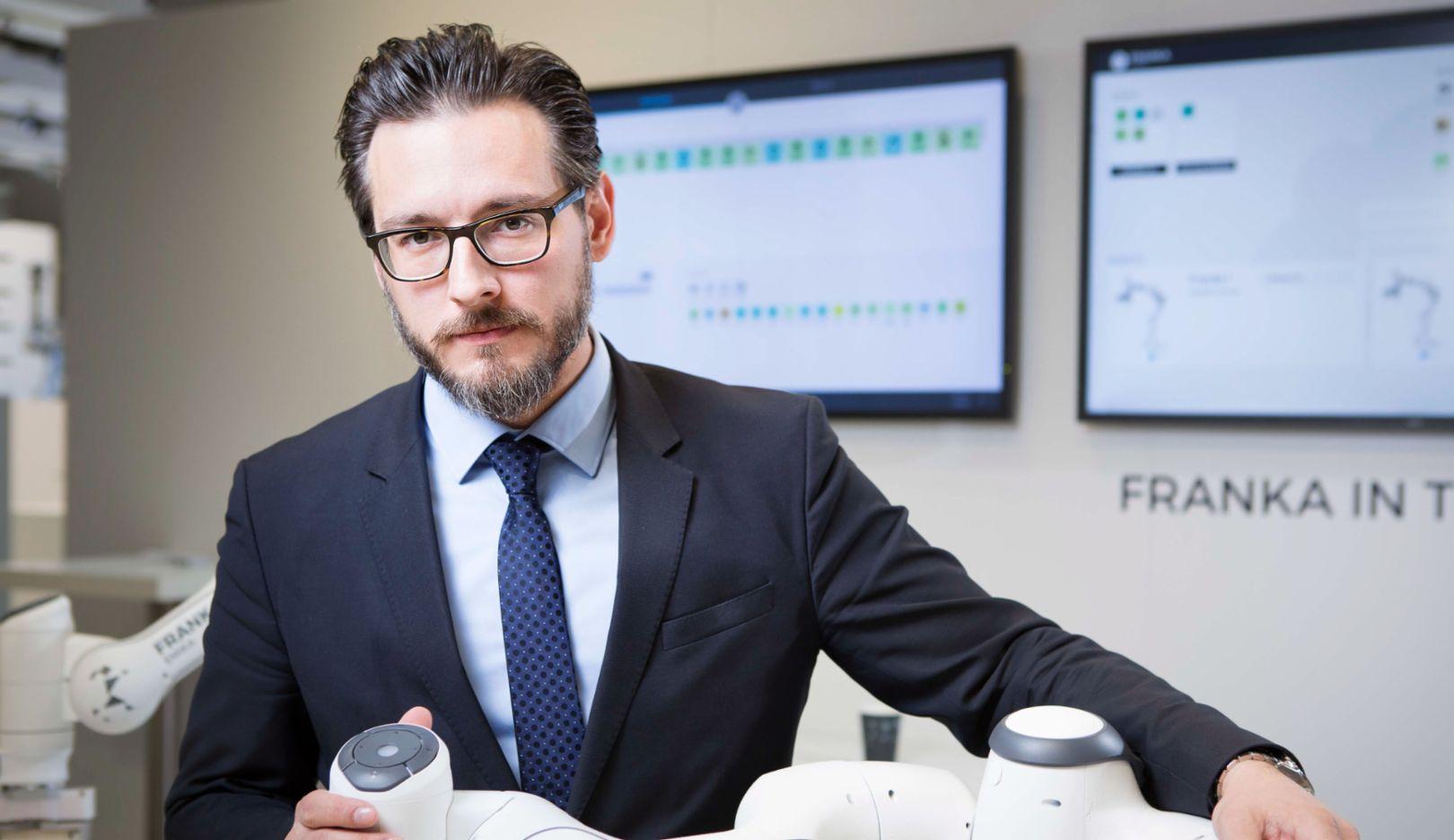 Sami Haddadin, 2017, Porsche Consulting GmbH