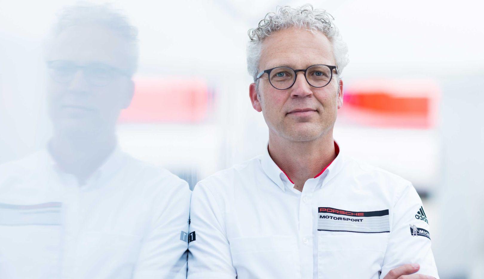 Daniel Armbruster, President and CEO of Porsche Motorsports North America, 2017, Porsche AG