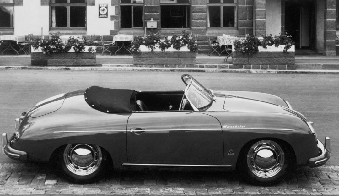 356 Speedster, model year 1955, Porsche AG