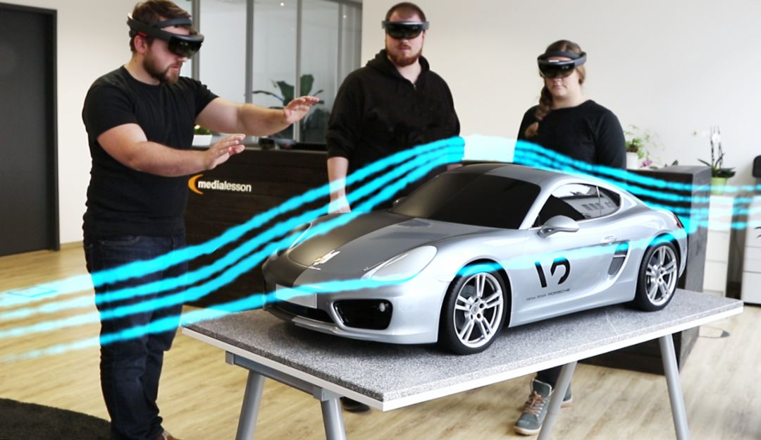 Mixed Reality-Technologie, 2019, Porsche AG