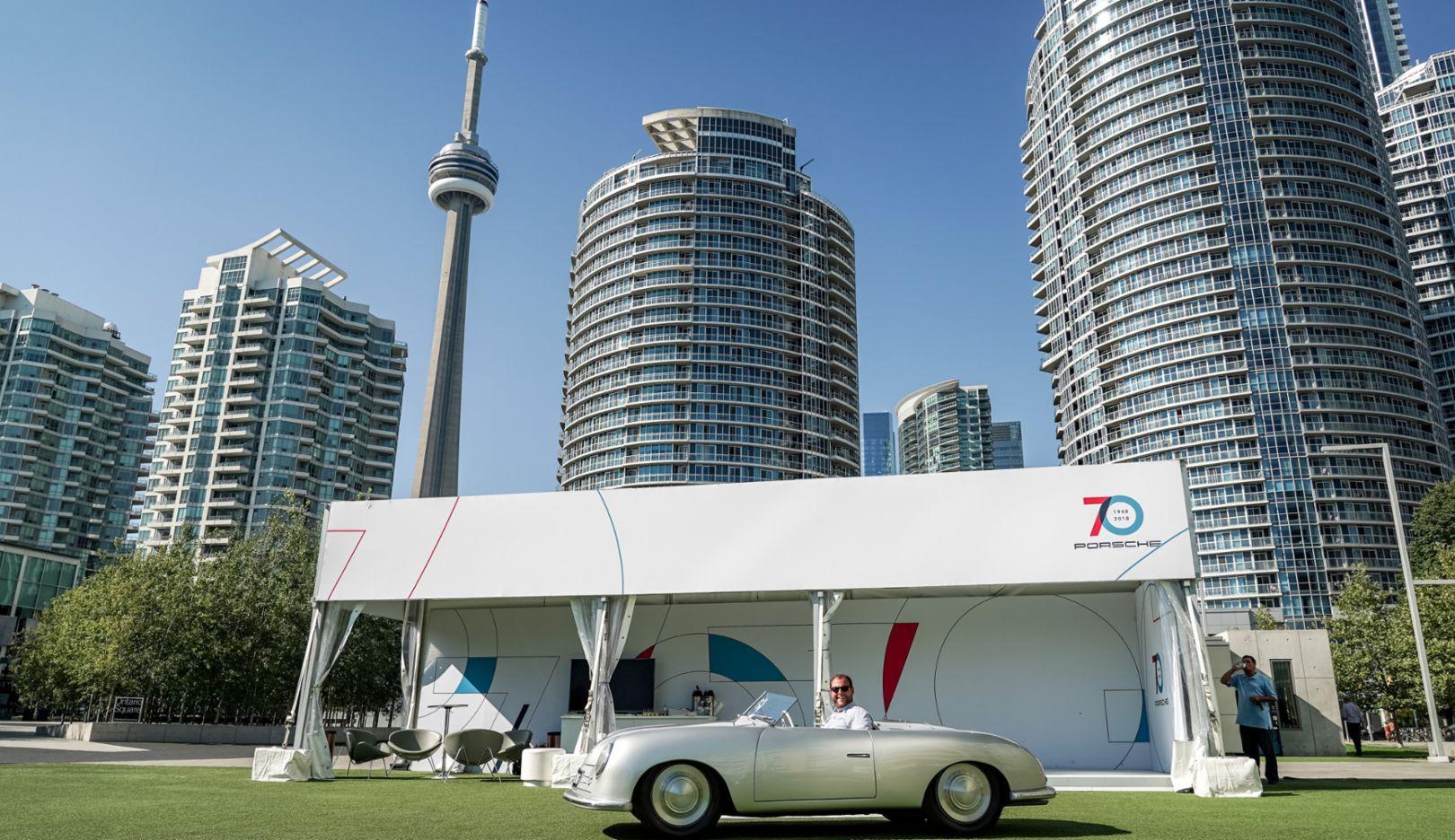 """Marc Ouayoun, 356 """"Nr. 1"""" Roadster, Toronto Harbour, 2018, Porsche AG"""