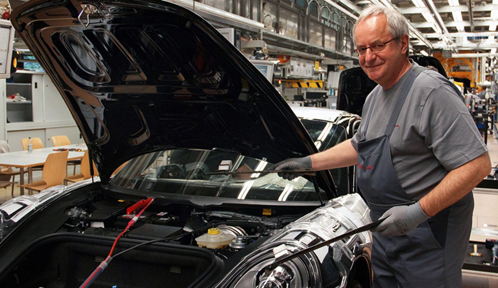 Guido Lorenz, Betriebsseelsorger, 2014, Porsche AG