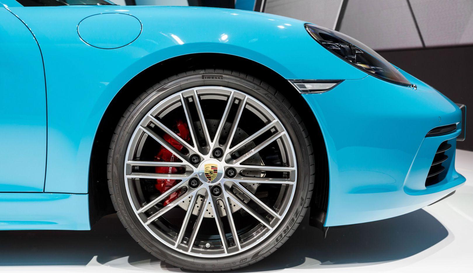 718 Cayman S, Detailaufnahme, 2016, Porsche AG