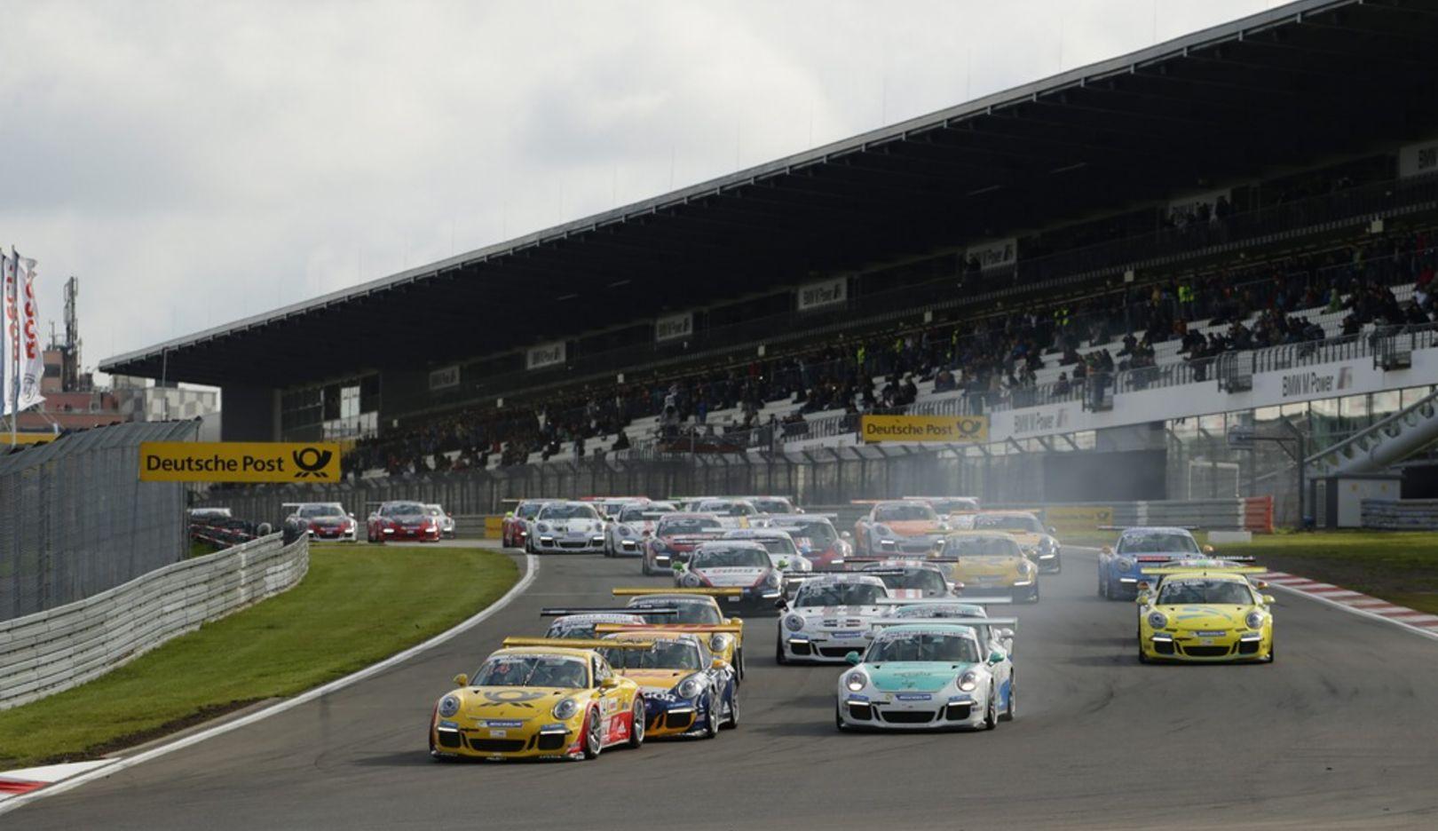 Porsche Carrera Cup Deutschland, Nürburgring, 2014, Porsche AG