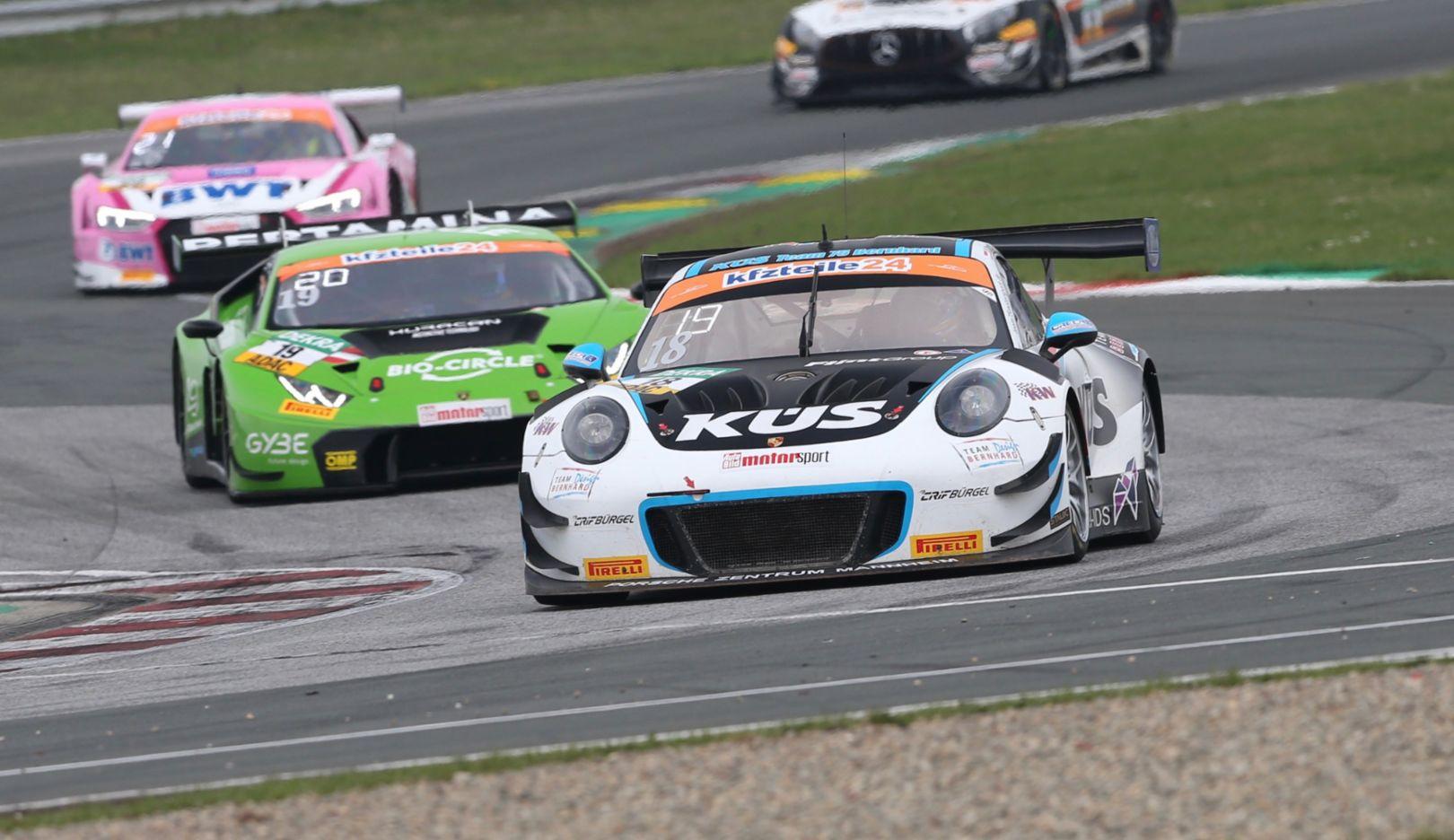 Porsche 911 GT3 R, ADAC GT Masters, Oschersleben, 2018, Porsche AG