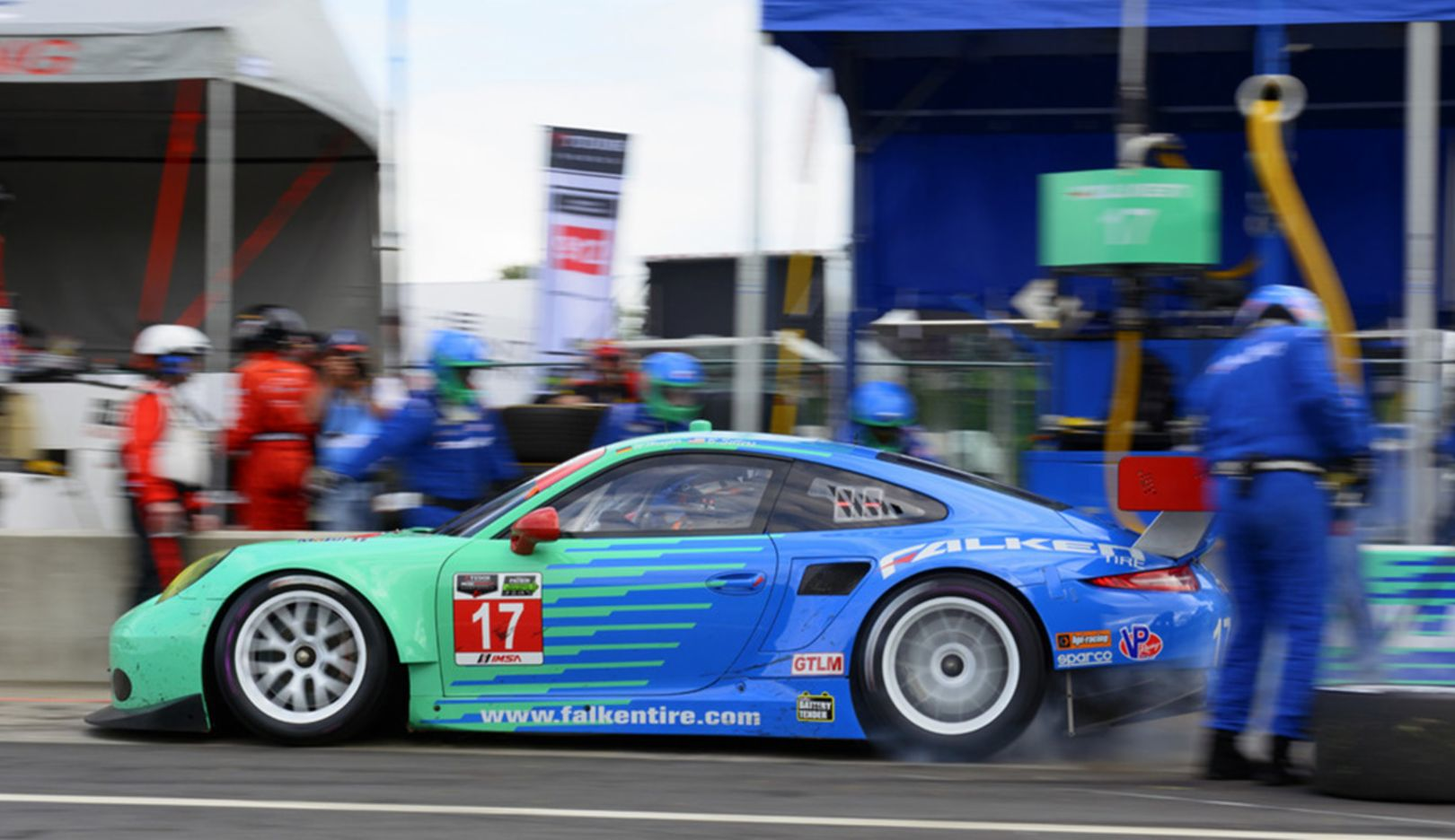 Tudor United SportsCar Championship, 9. Lauf in Alton, USA, 2014, Porsche AG
