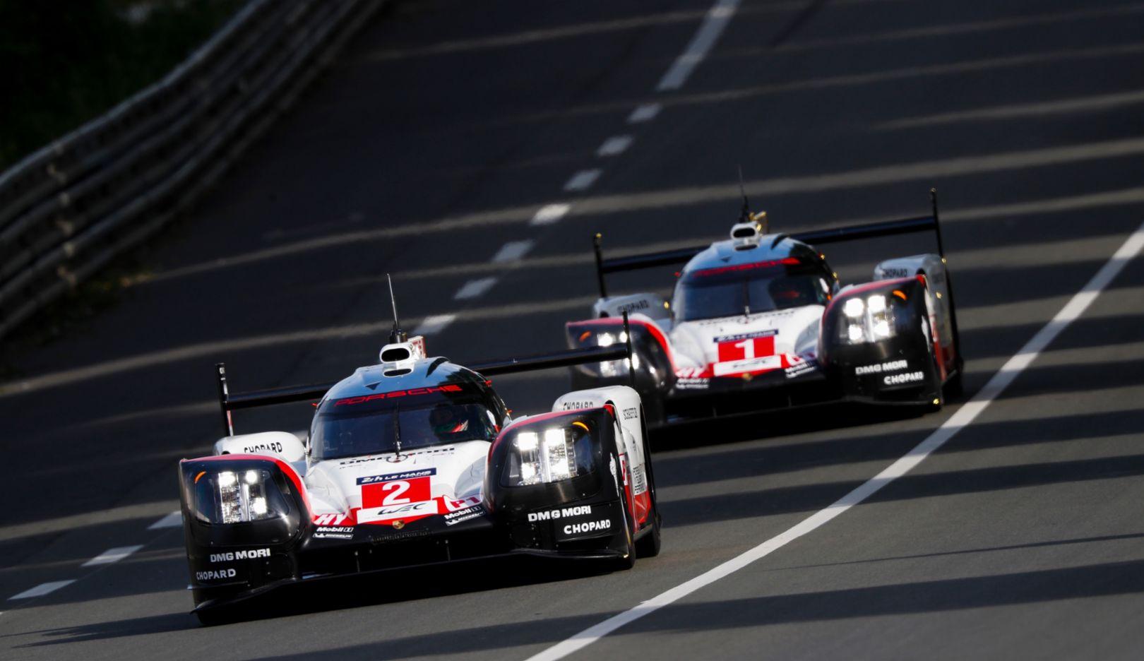 919 Hybrid, Pretest, Le Mans, 2017, Porsche AG