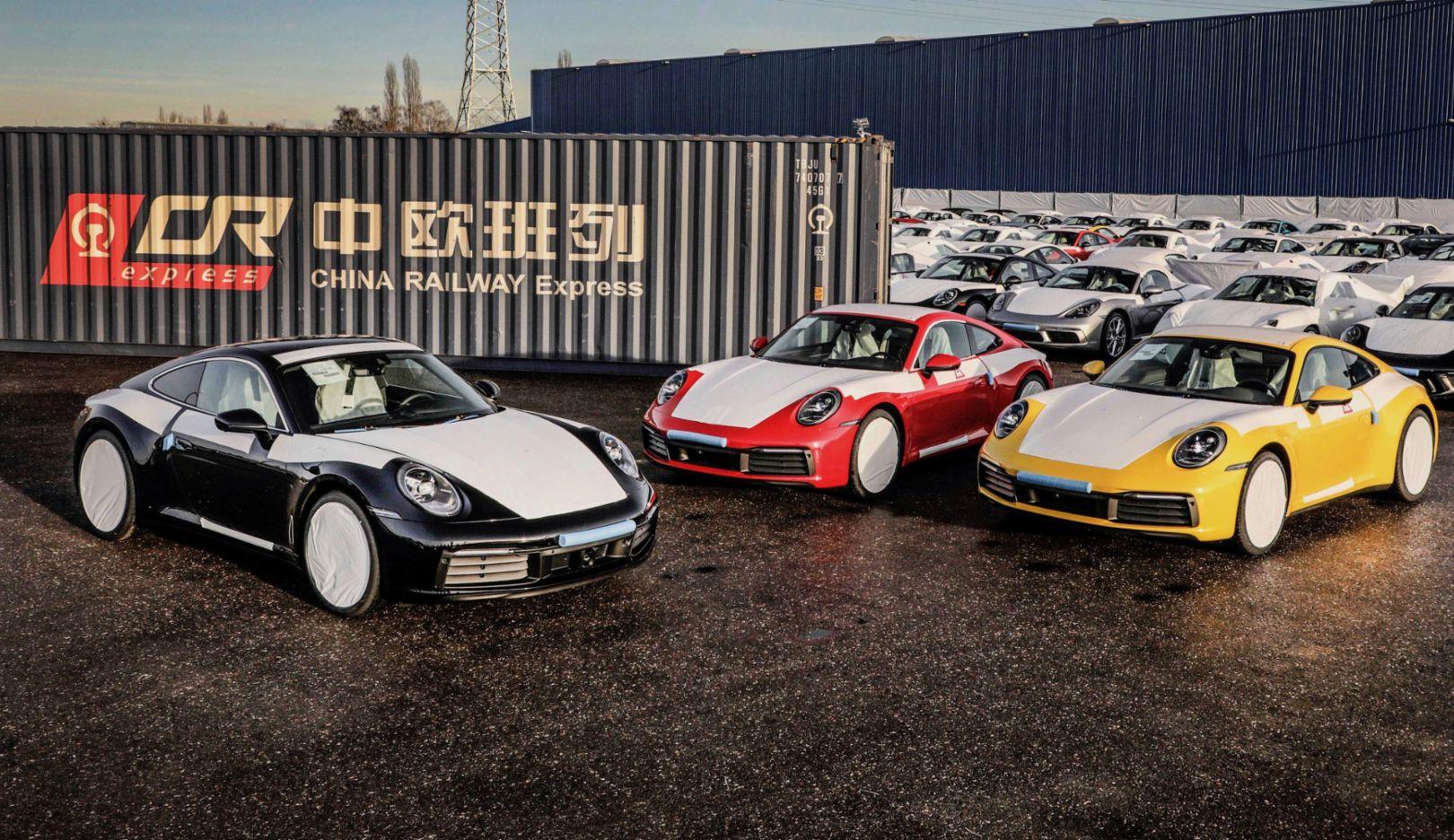 Porsche 911, China, 2019, Porsche AG