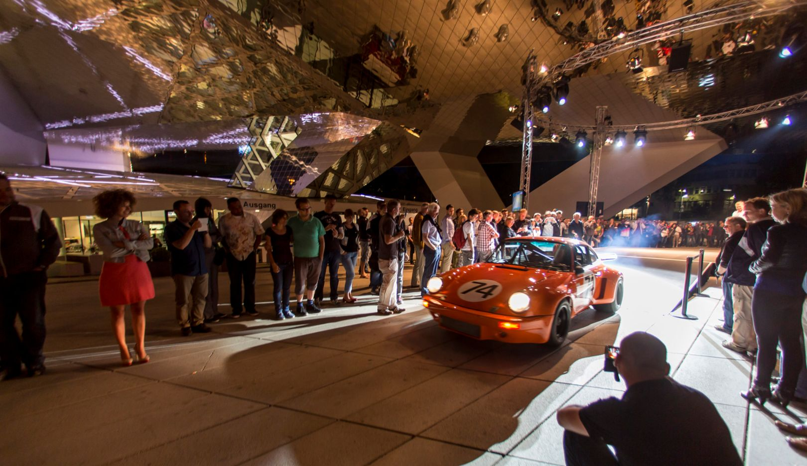 Lange Nacht der Museen, Porsche Museum, 2015, Porsche AG