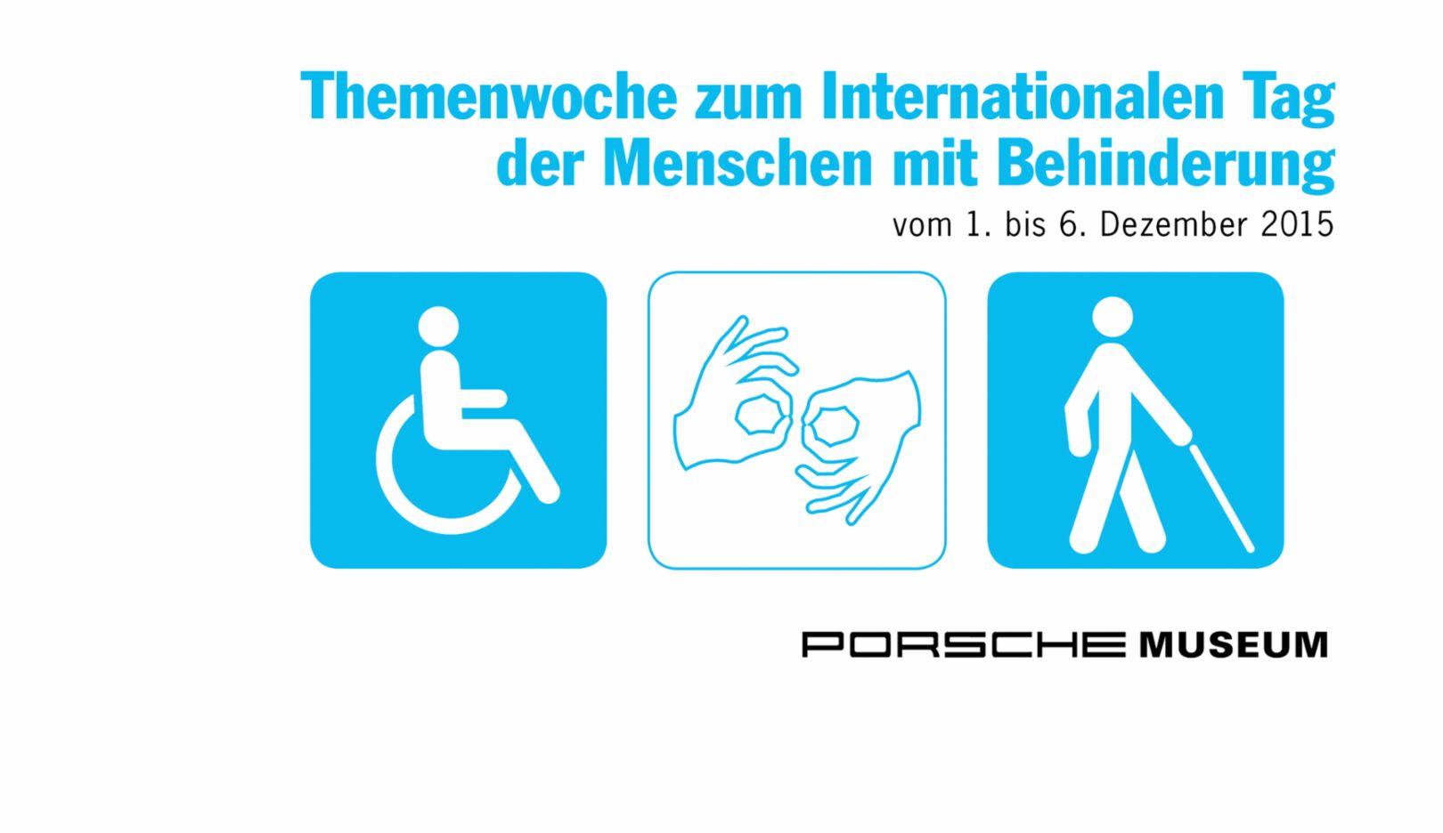 Internationaler Tag der Menschen mit Behinderung, 2015, Porsche AG