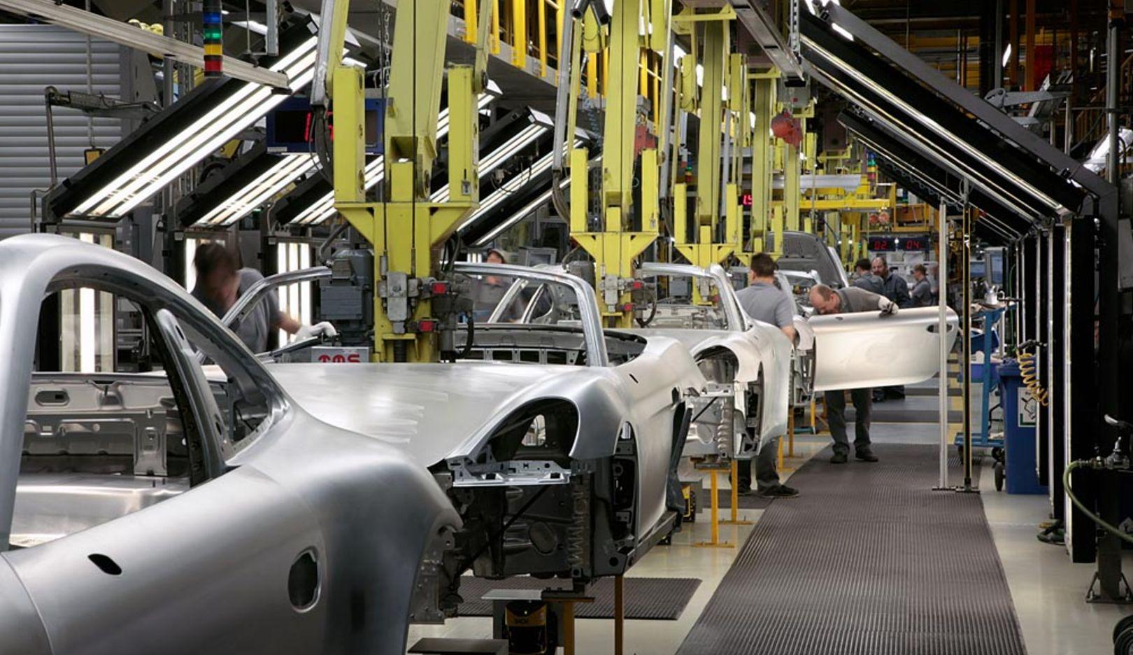 Produktion, Zuffenhausen, 2014, Porsche AG