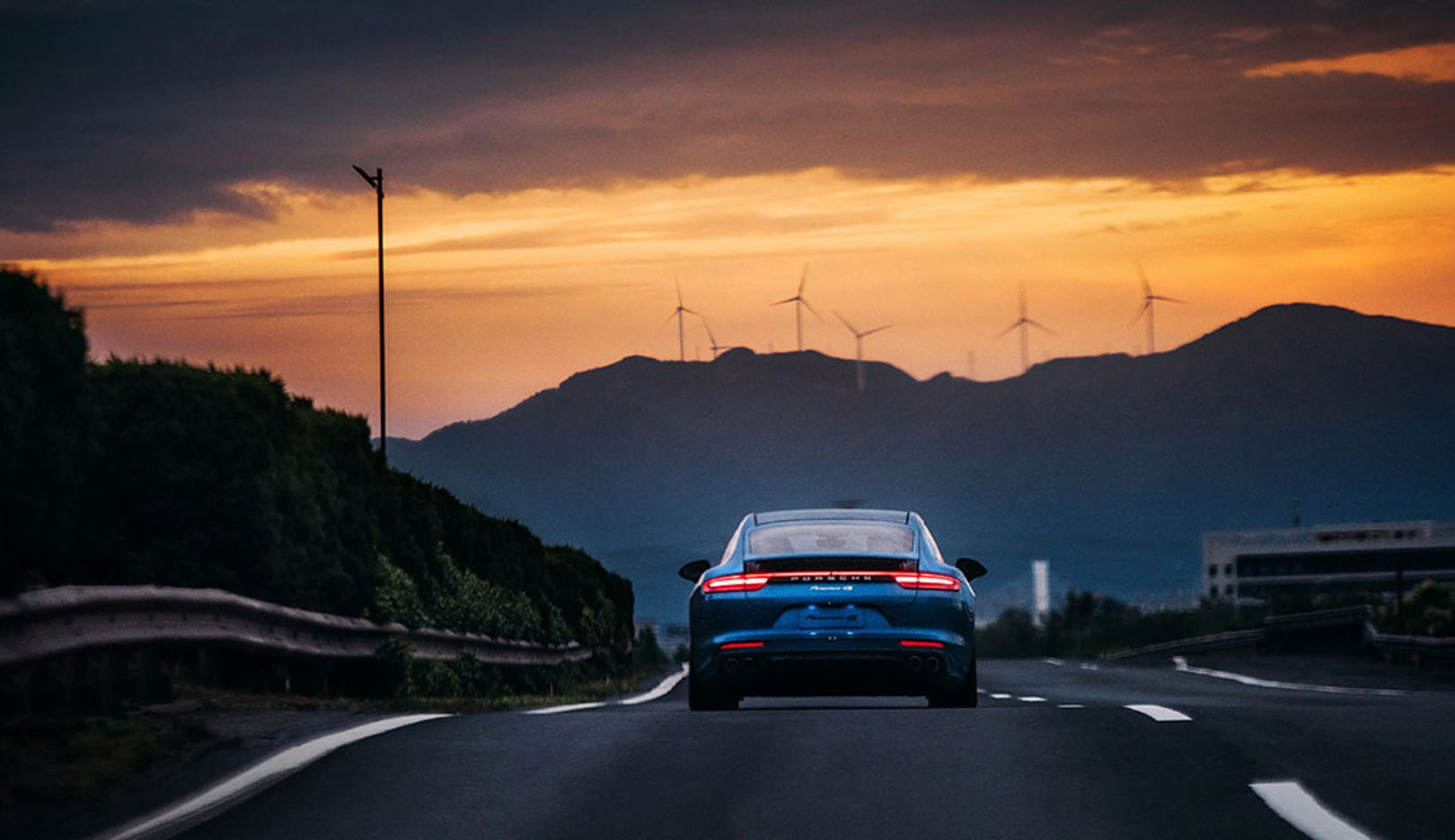 Panamera, China, 2017, Porsche AG