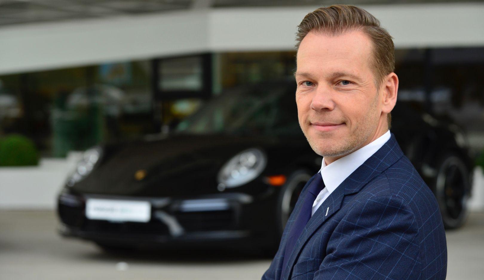 Michael Glinski, 2017, Porsche AG