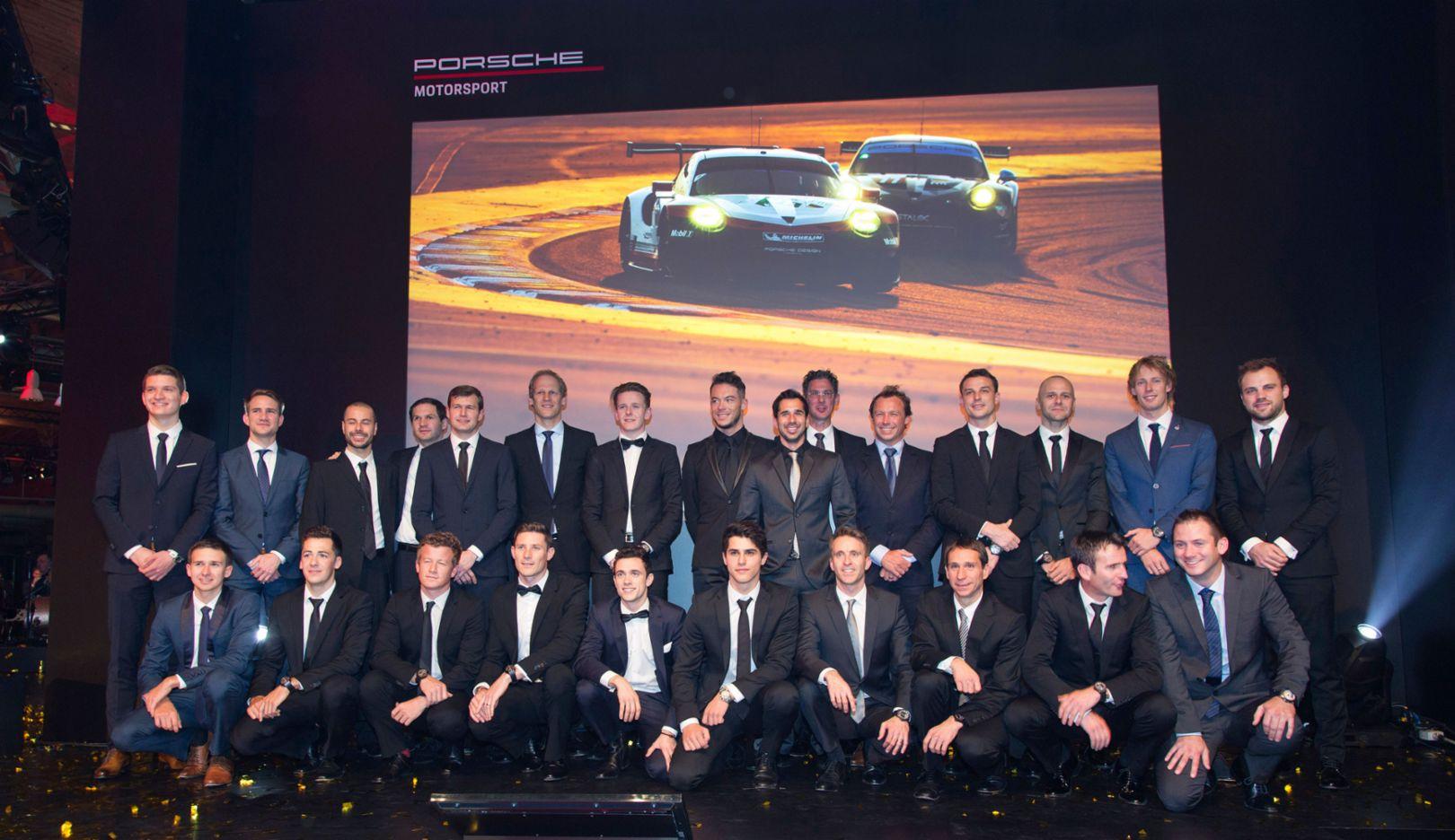 Porsche Night of Champions, Weissach, 12/09/2017, Porsche AG