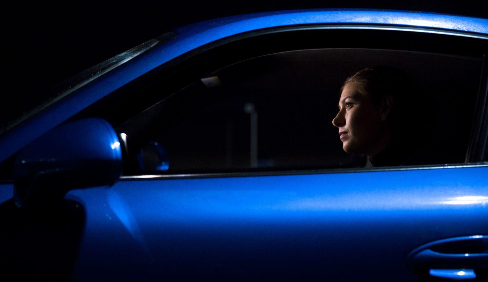 Porsche brand ambassador Maria Sharapova