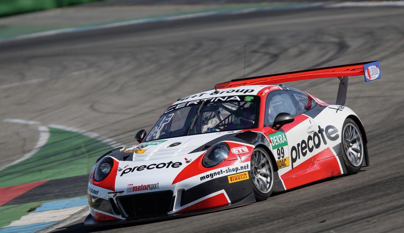 911 GT3 R, Precote Herberth Motorsport, ADAC GT Masters Hockenheimring, 2017, Porsche AG
