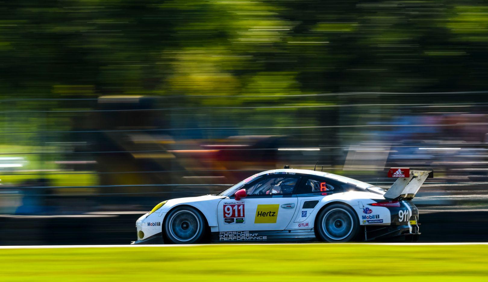 Porsche 911 RSR, IMSA, Virginia International Raceway, Alton, 2016, Porsche AG