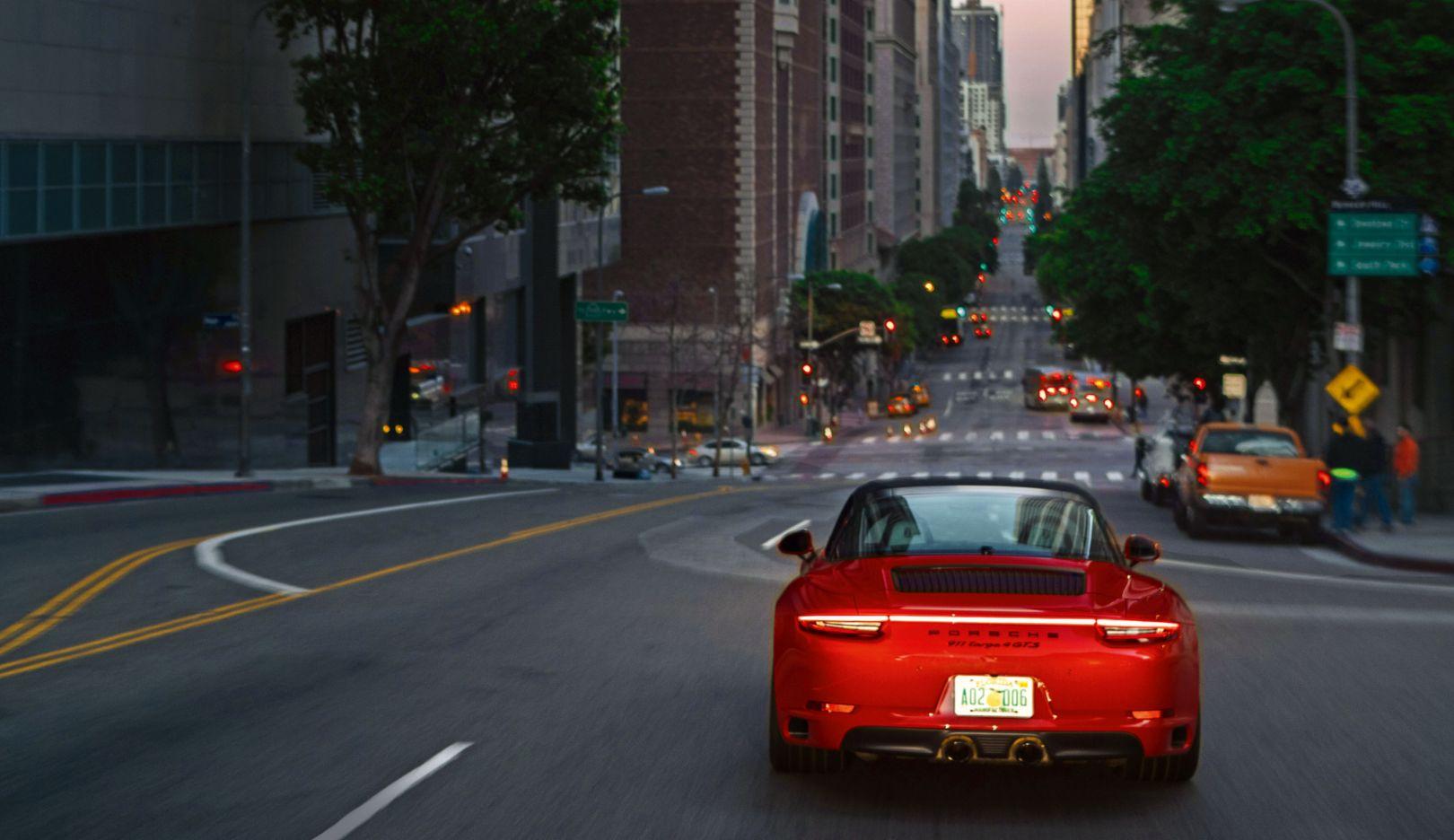 911 Targa 4 GTS, Los Angeles, 2018, Porsche AG
