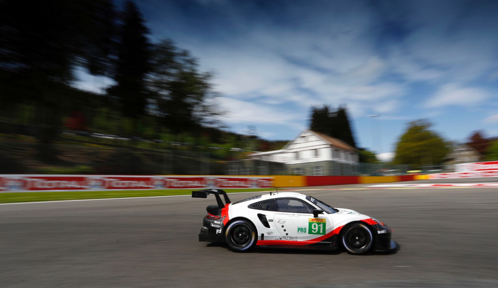 911 RSR, free practice, Spa-Francorchamps, FIA WEC, 2018, Porsche AG