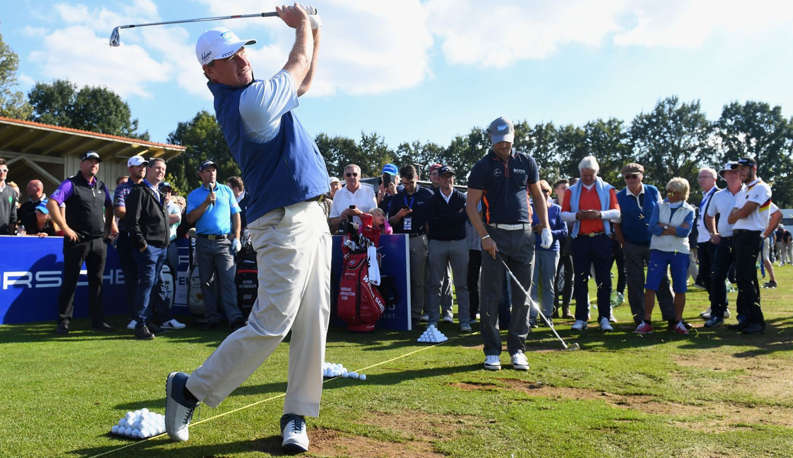 Ernie Els, Golfer, Porsche European Open, Bad Griesbach, 2016, Porsche AG