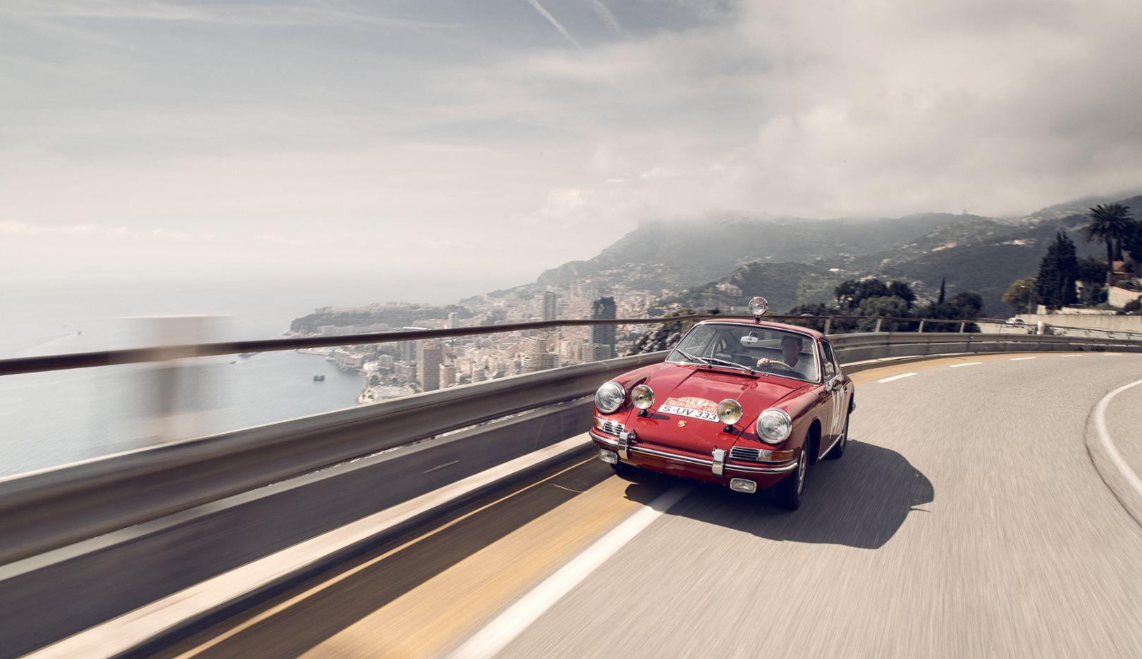Porsche Monte-Elfer, 1965, Côte d'Azur, Frankreich, 2015, Porsche AG