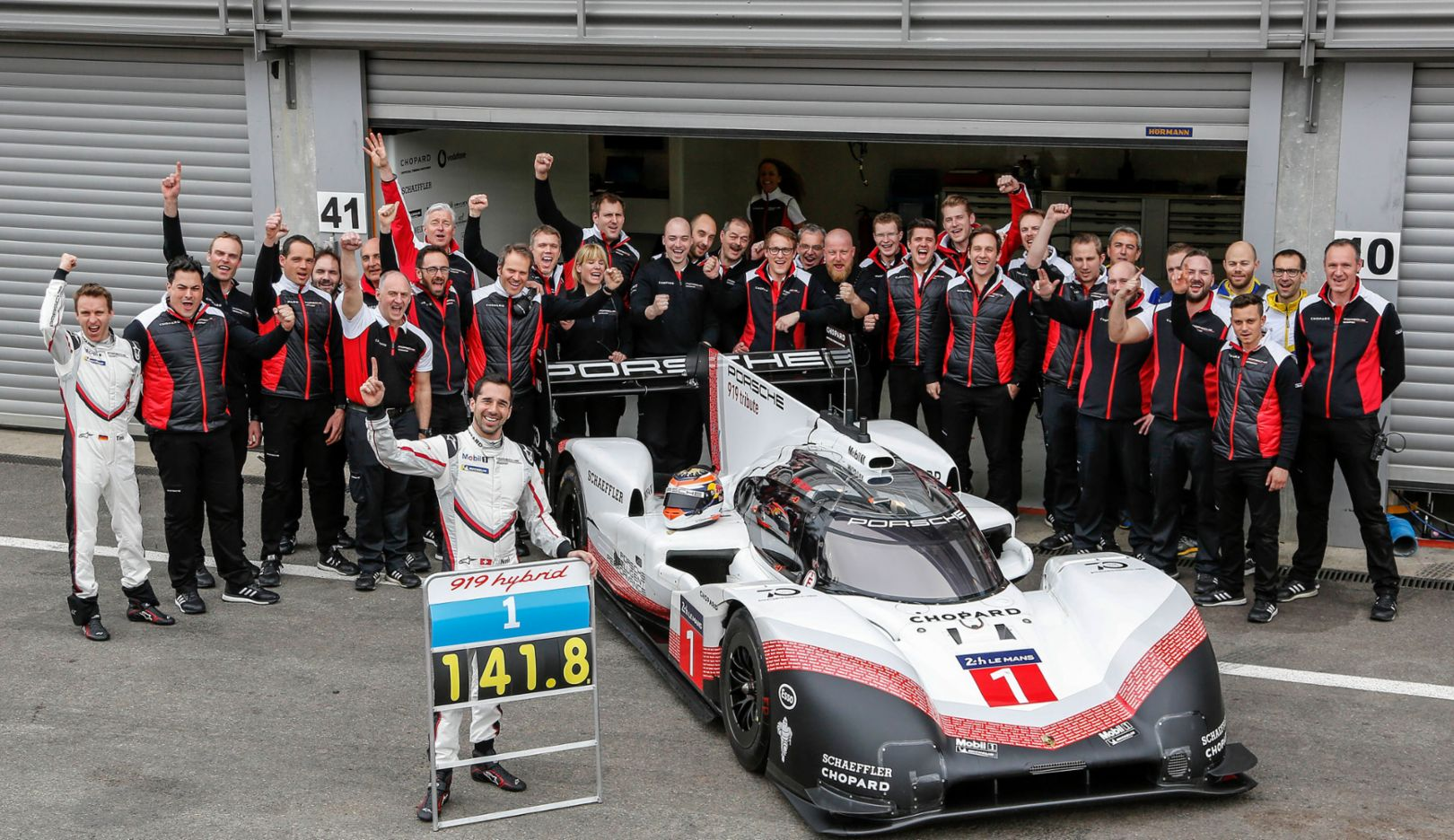 Porsche hybrid race car is faster than Formula One
