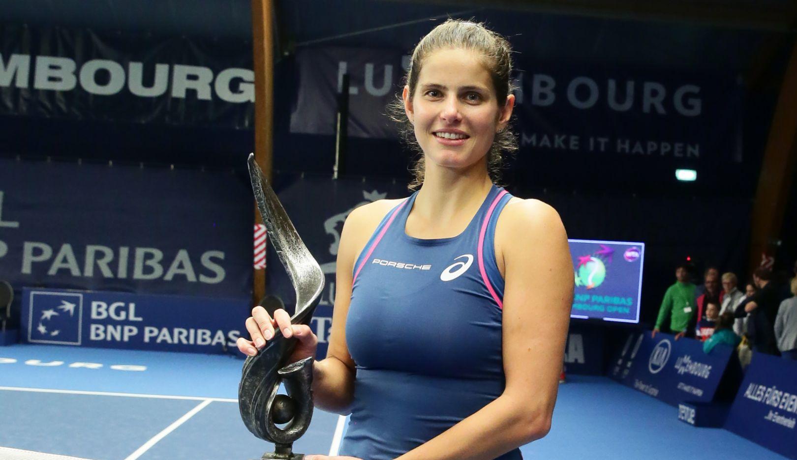 Julia Gorges Wins Wta Tournament In Luxemburg