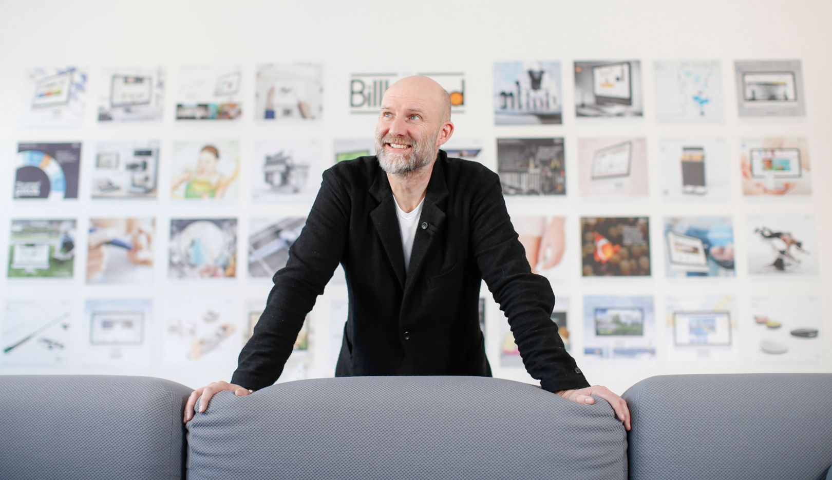 Professor Dr. Johann Füller, Chef der HYVE AG, München, 2017, Porsche Consulting GmbH