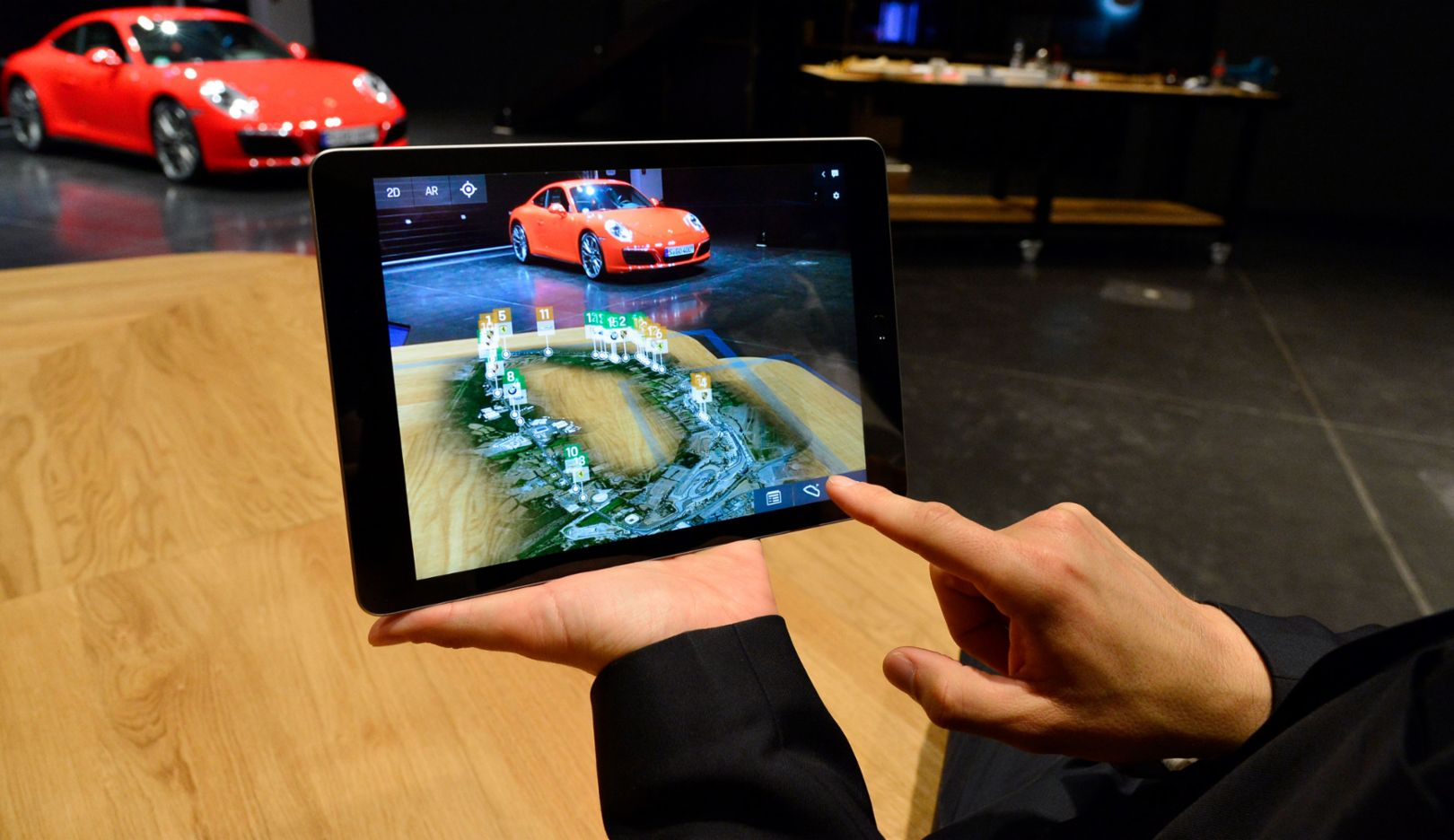 Motor sports app, Porsche Digital, 2018, Porsche AG