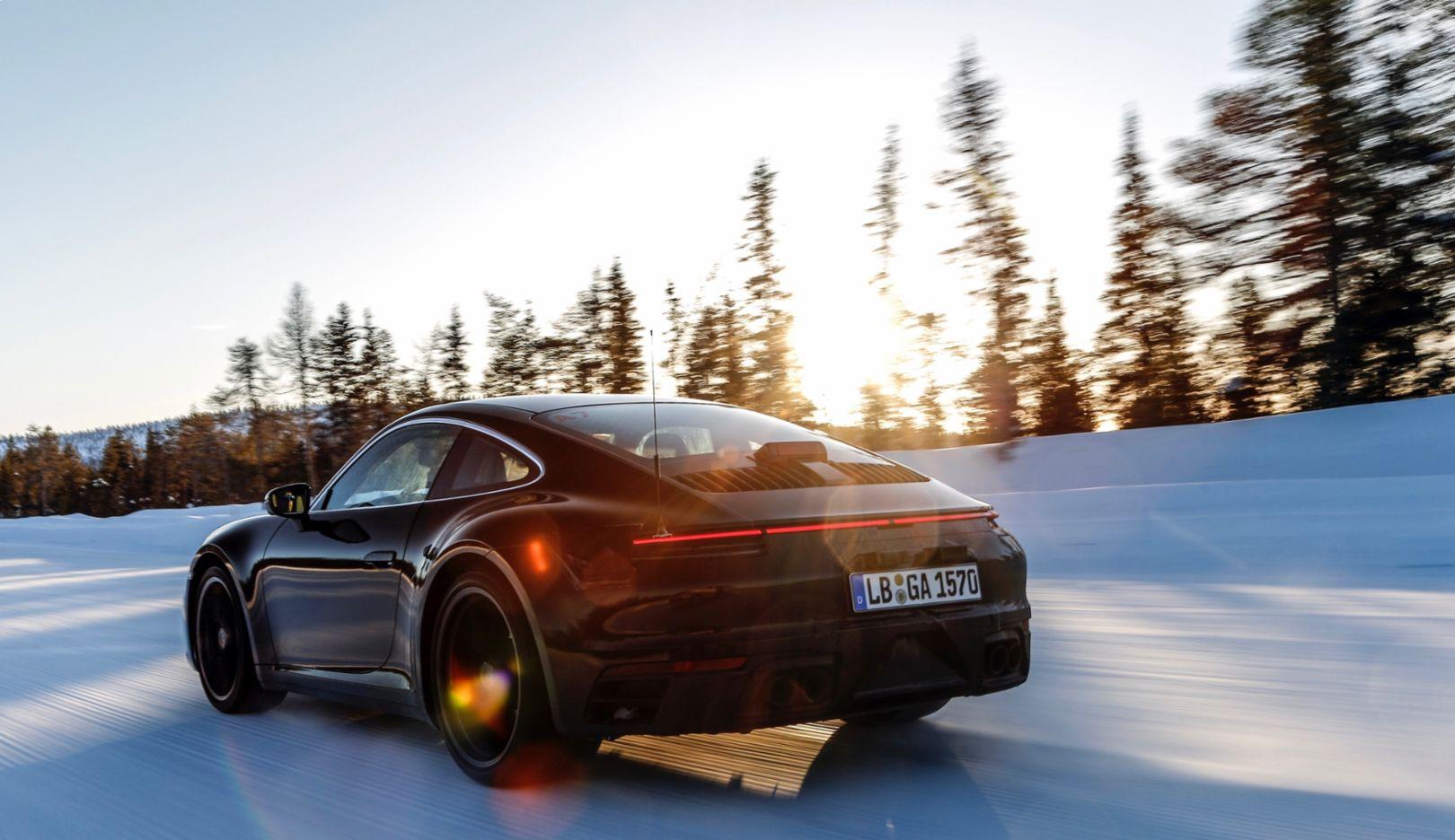Porsche 911, testing programme, 2018, Porsche AG