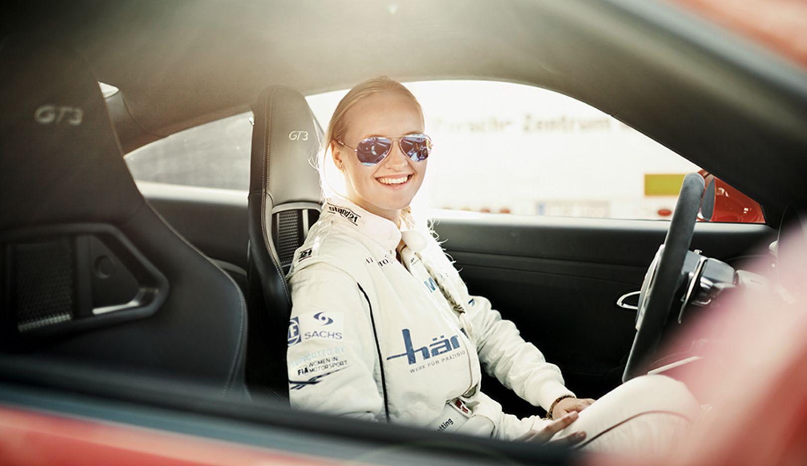 Michelle Gatting, Porsche-Carrera-Cup pilot, 911 GT3, 2014, Porsche AG