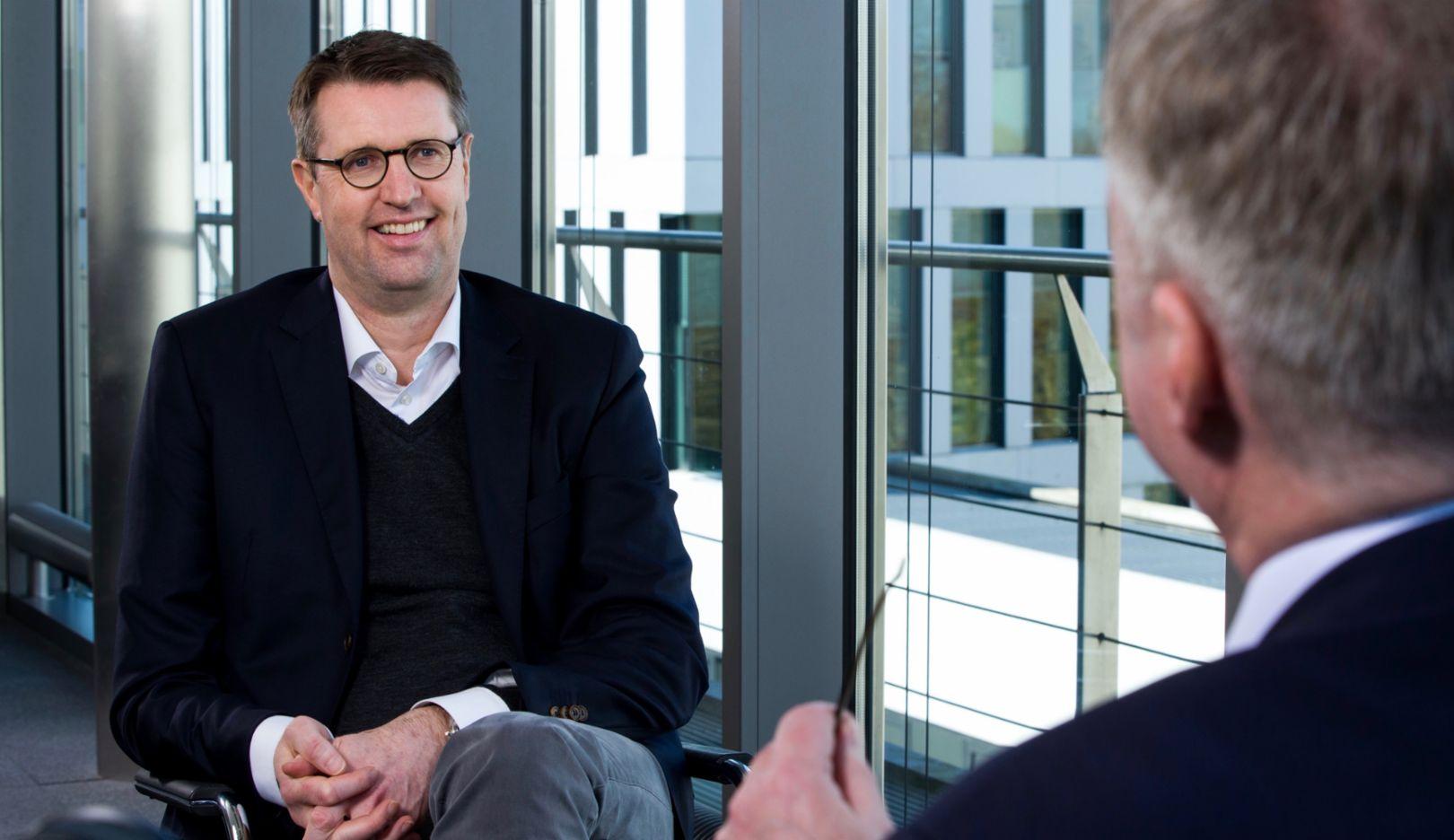 Patrick Wendeler, Vorstandsvorsitzender der Aral AG, 2019, Porsche AG