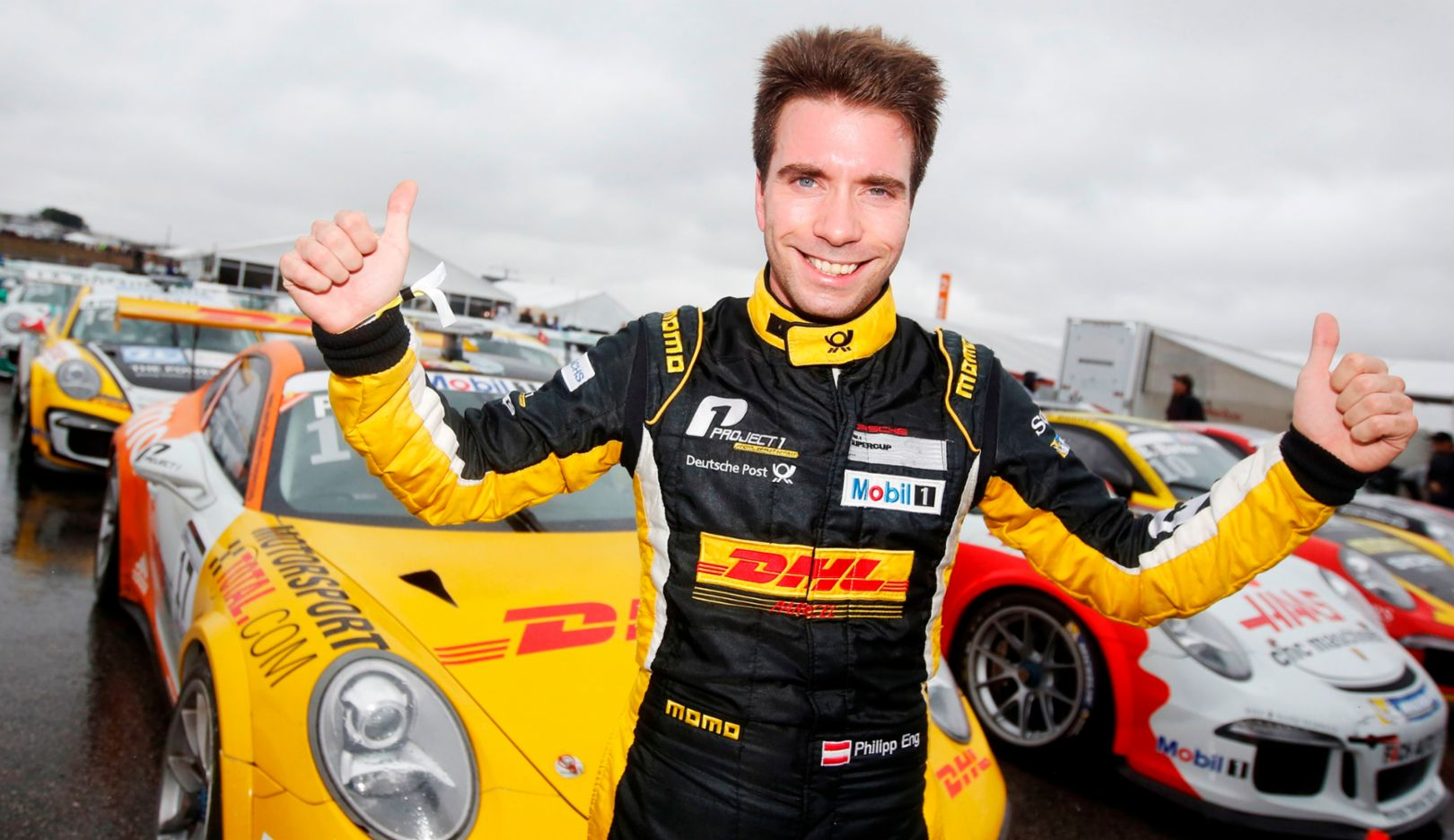 Philipp Eng, Porsche Mobil 1 Supercup, Austin 2015, Porsche AG