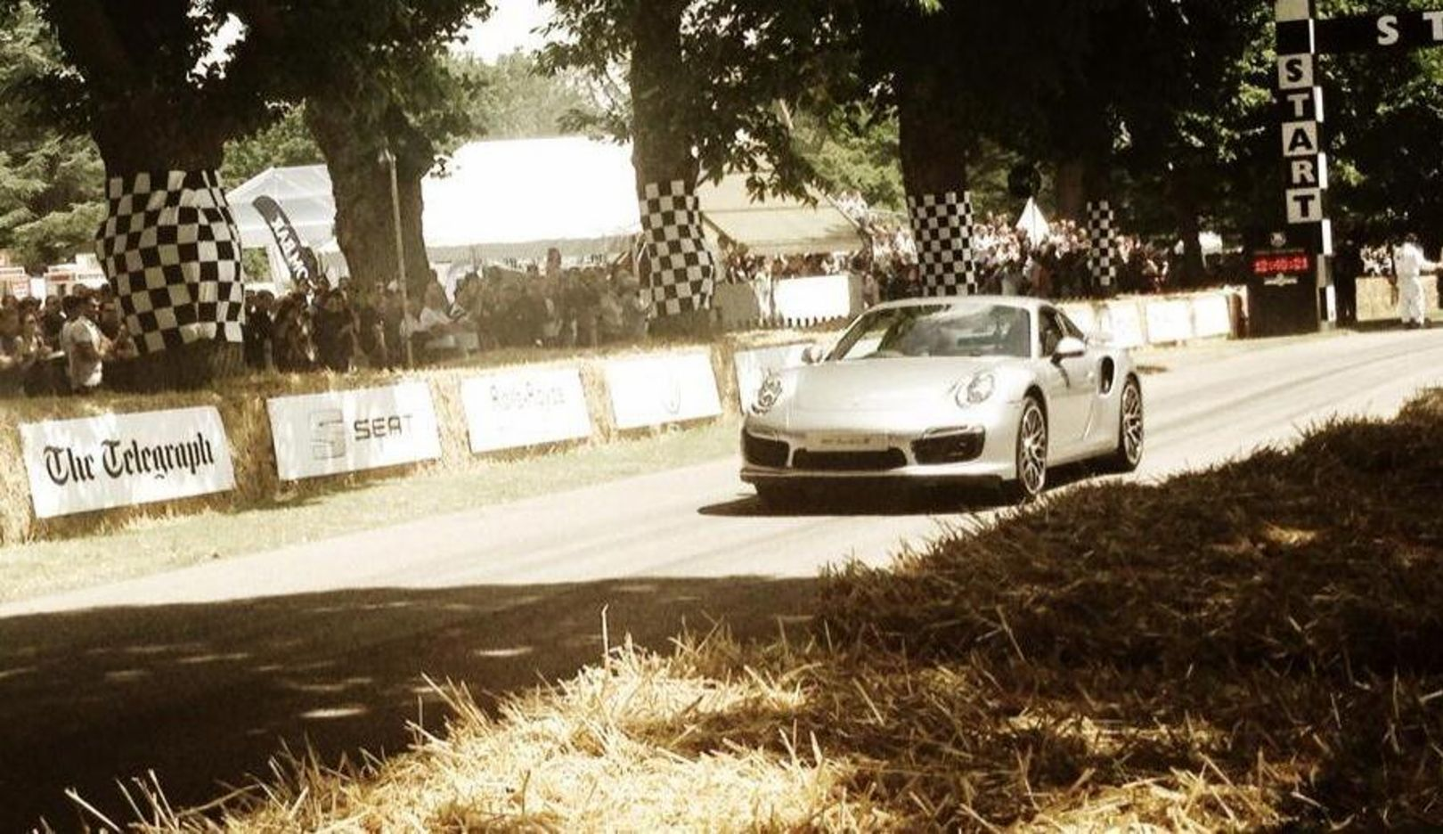 911 Turbo S, Goodwood, 2014, Porsche AG