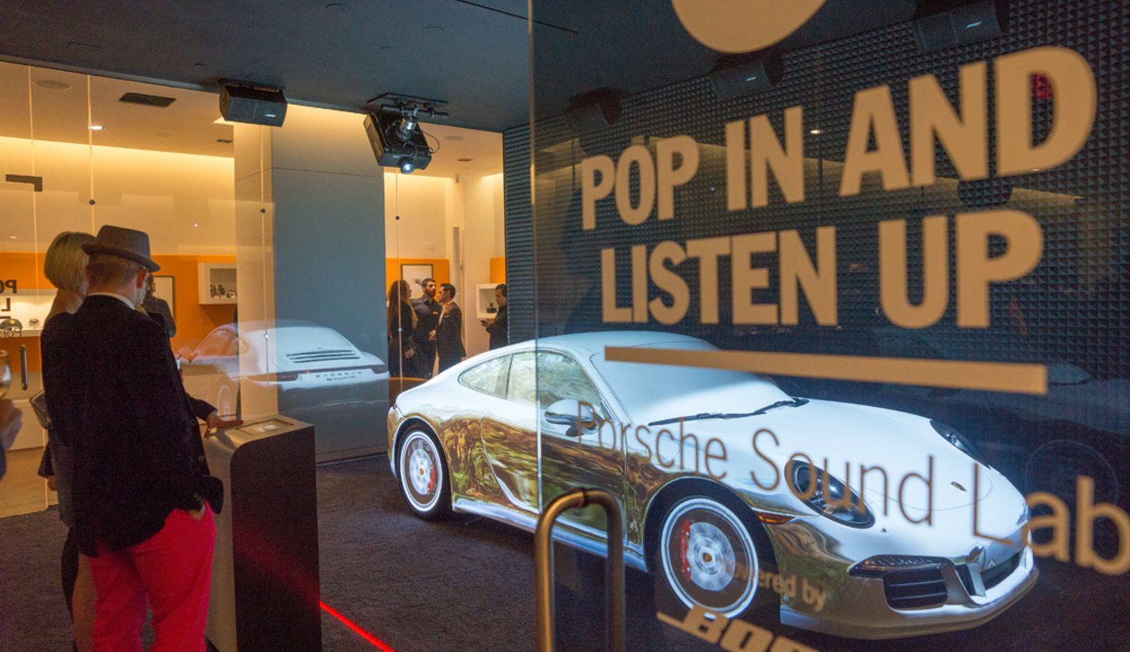 Porsche Pop-up-Store, New York City, 2014, Porsche AG