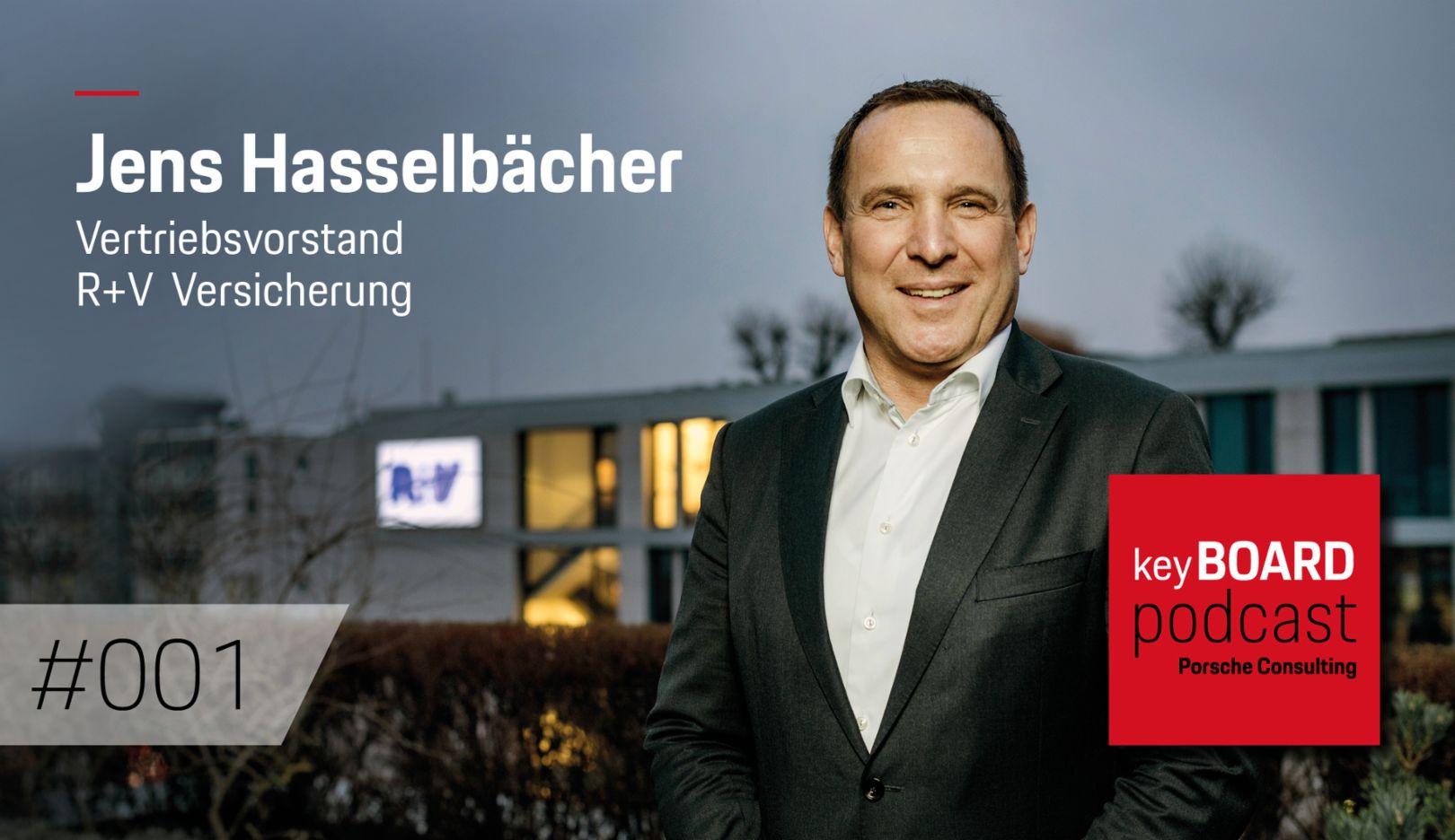 Jens Hasselbächer, R+V-Vorstand, 2019, Porsche Consulting GmbH