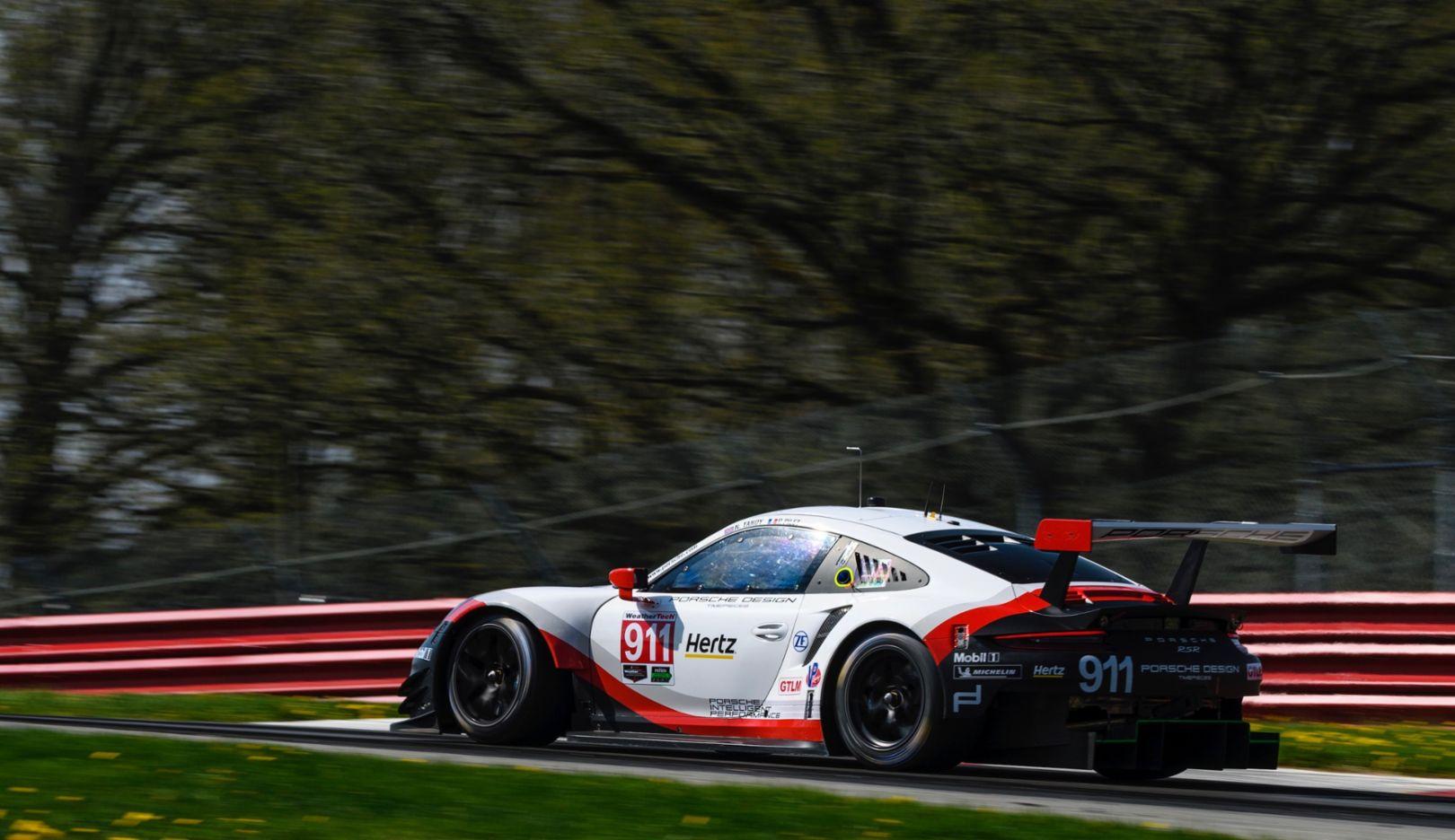 911 RSR, IMSA WeatherTech SportsCar Championship, Mid-Ohio, 2018, Porsche AG
