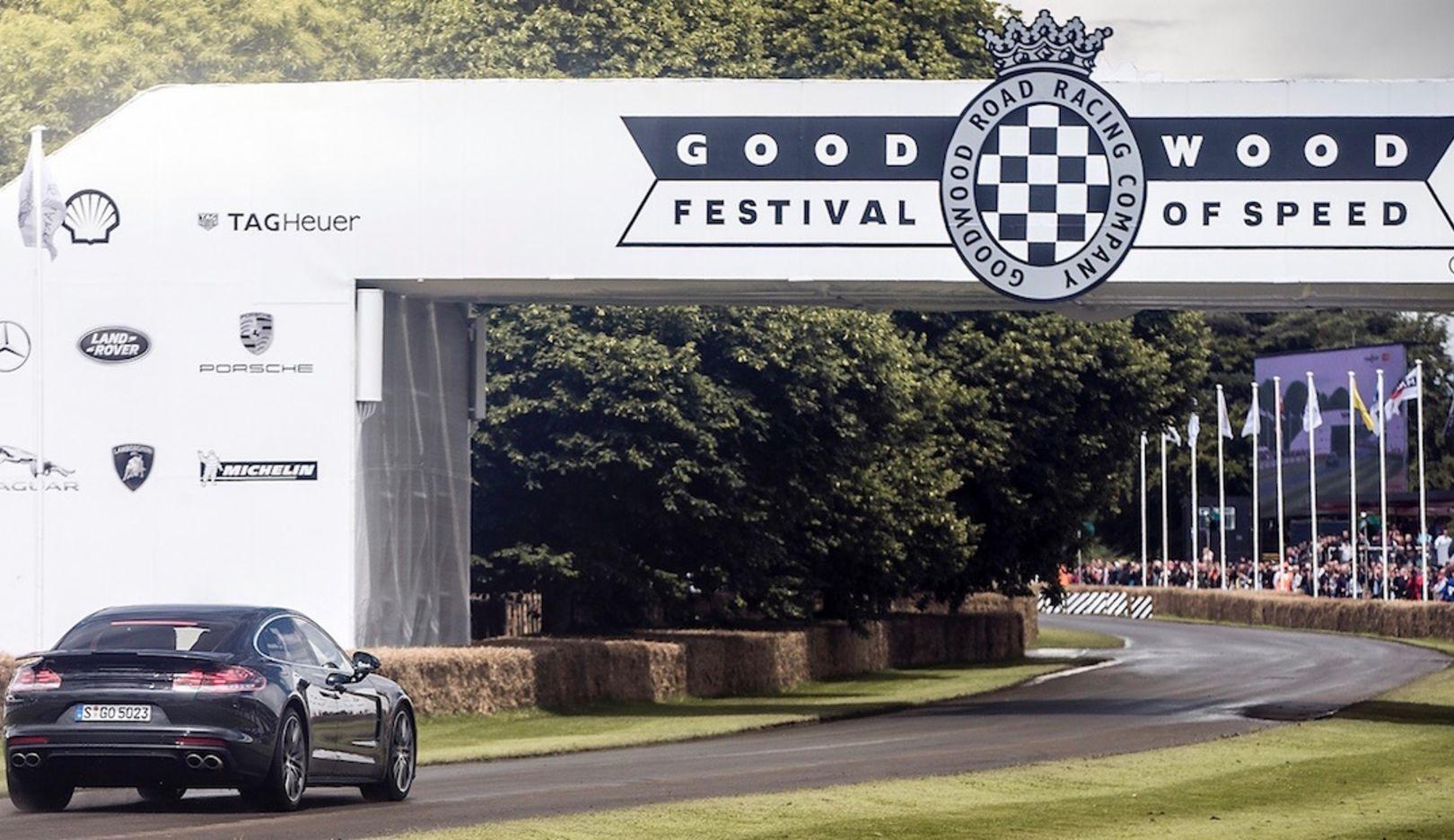 Panamera Turbo, Goodwood Festival, 2016, Porsche AG